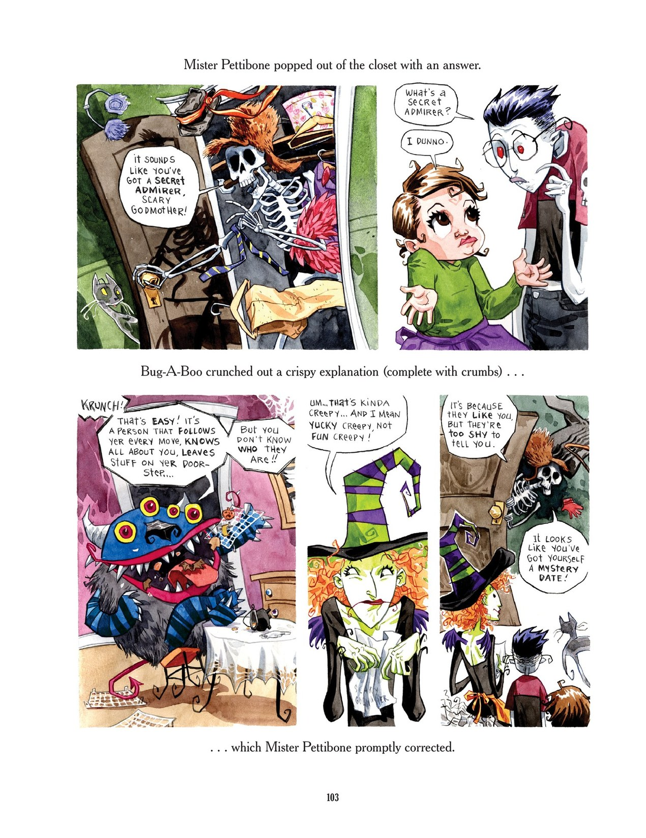 Read online Scary Godmother comic -  Issue # TPB - 103