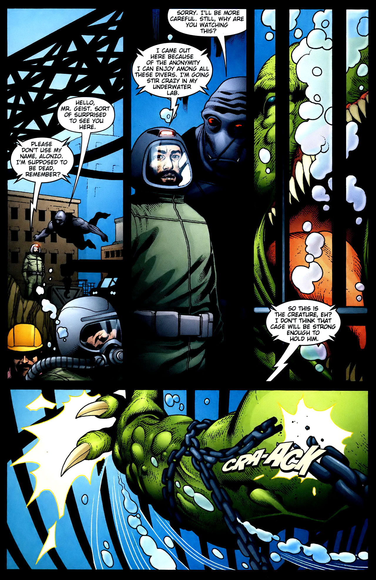 Read online Aquaman (2003) comic -  Issue #34 - 15