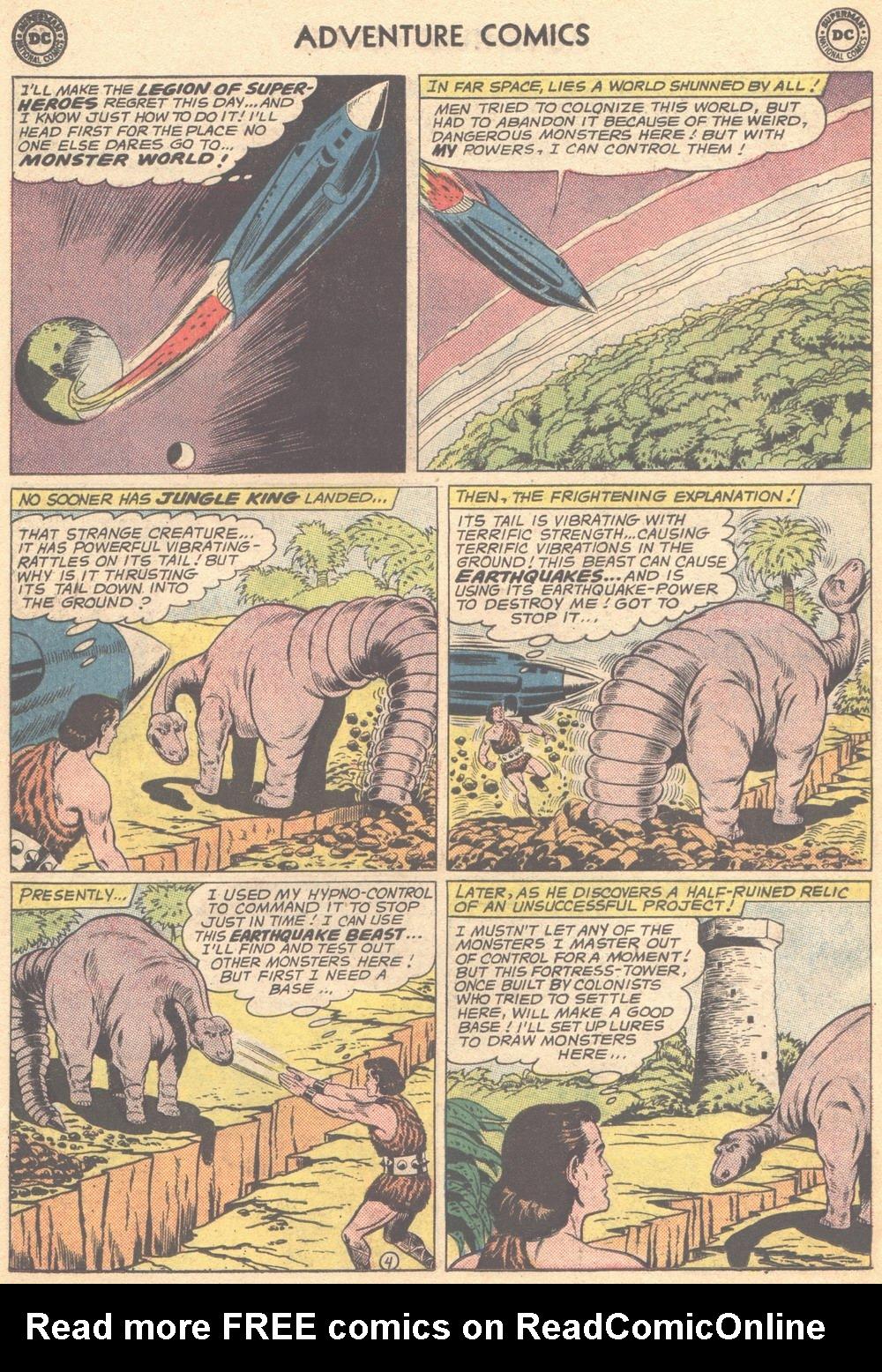 Read online Adventure Comics (1938) comic -  Issue #309 - 6