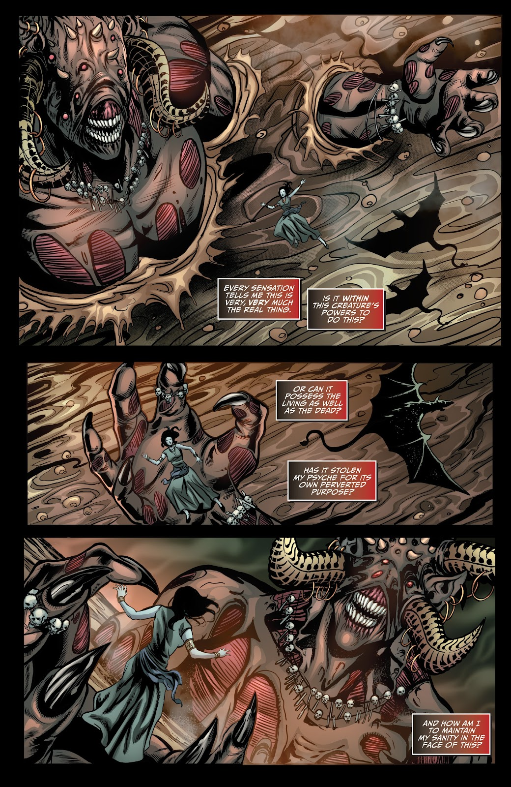 Read online Van Helsing: Sword of Heaven comic -  Issue #5 - 11