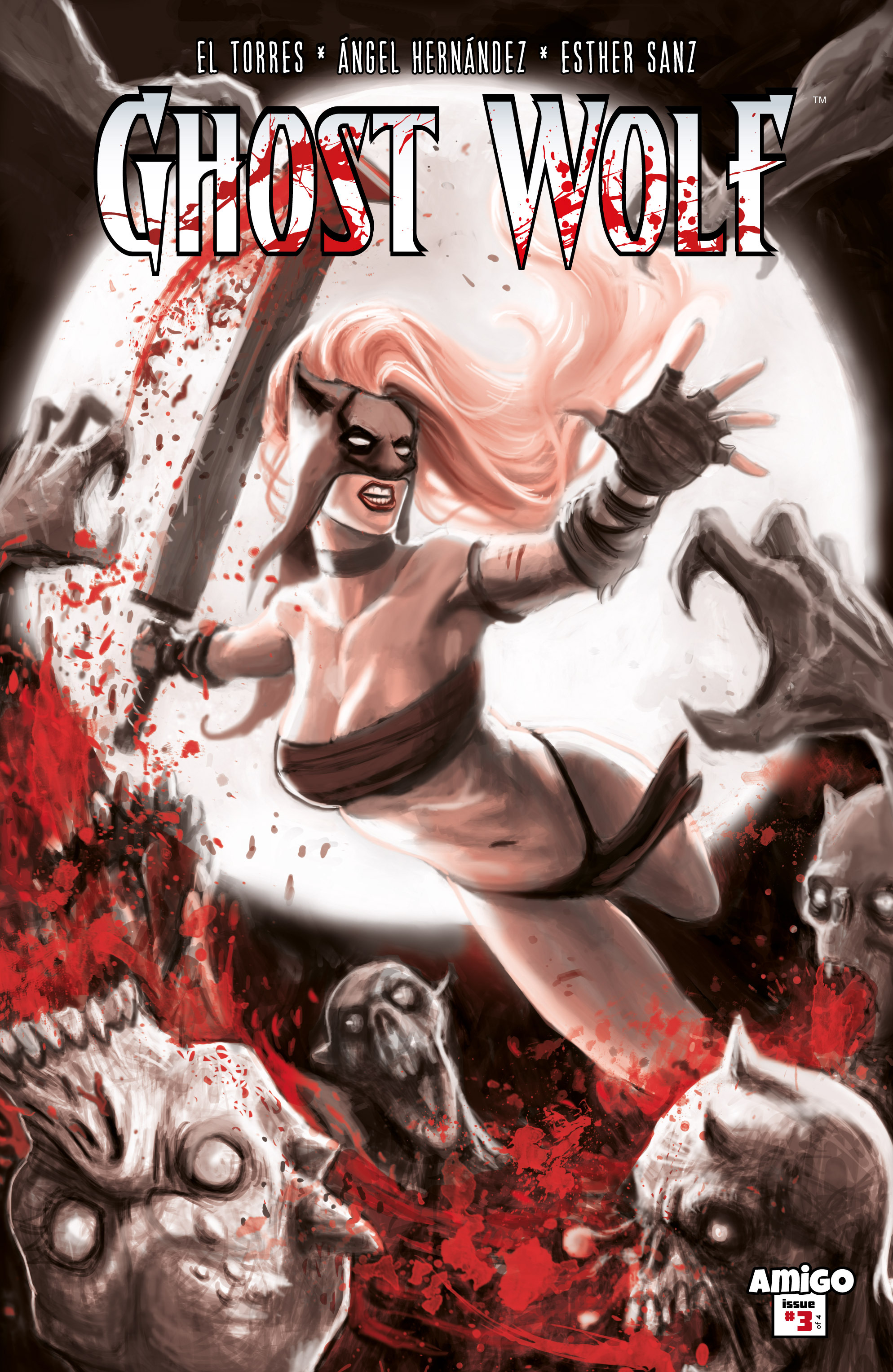 Read online Ghost Wolf comic -  Issue #3 - 1