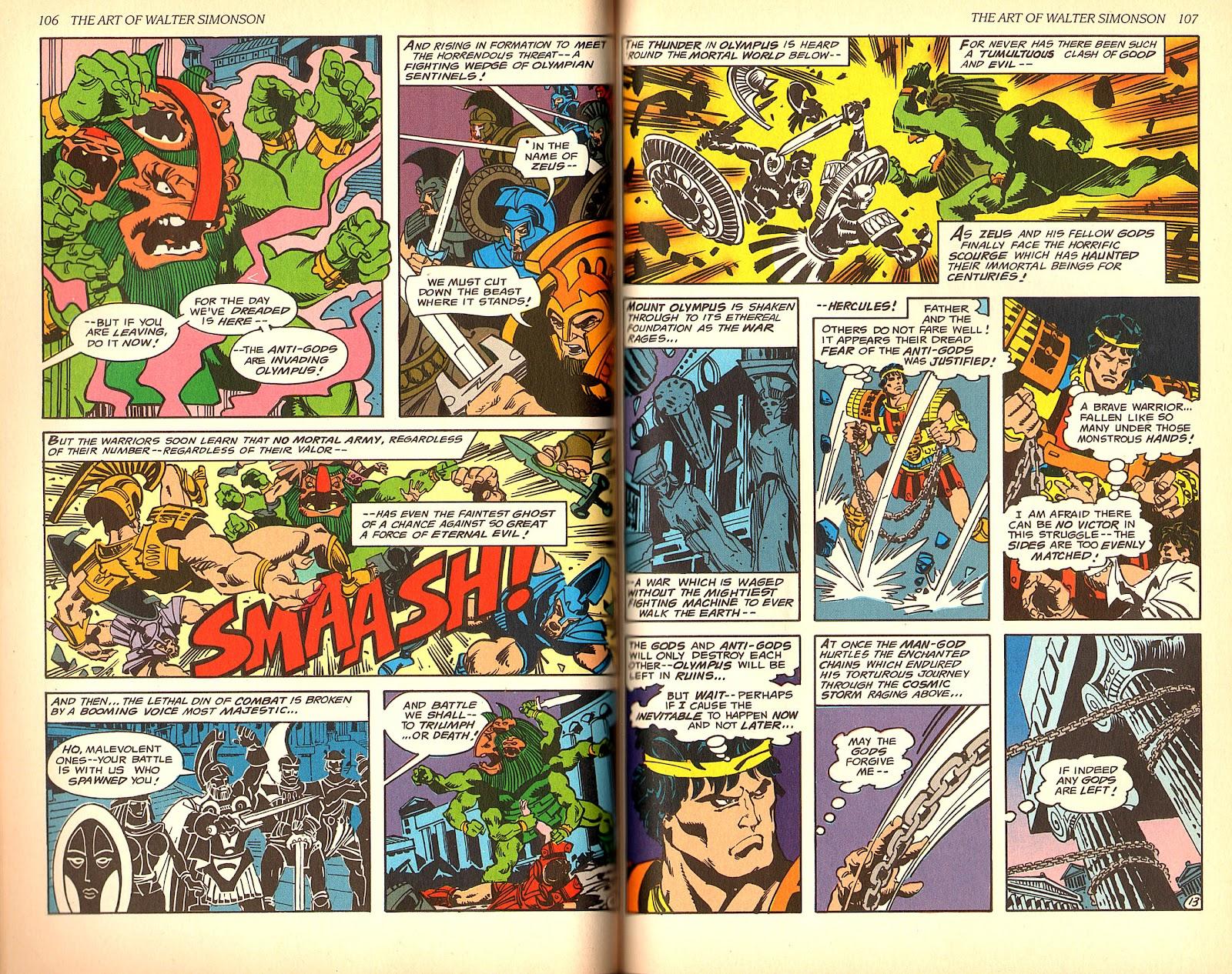 Read online The Art of Walter Simonson comic -  Issue # TPB - 55