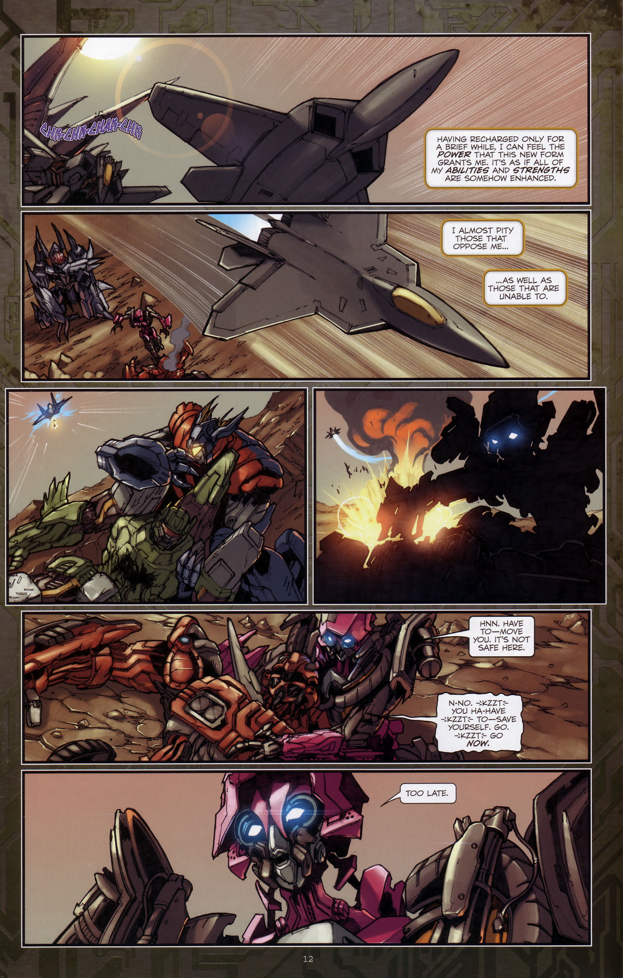 Read online Transformers: The Reign of Starscream comic -  Issue #3 - 13