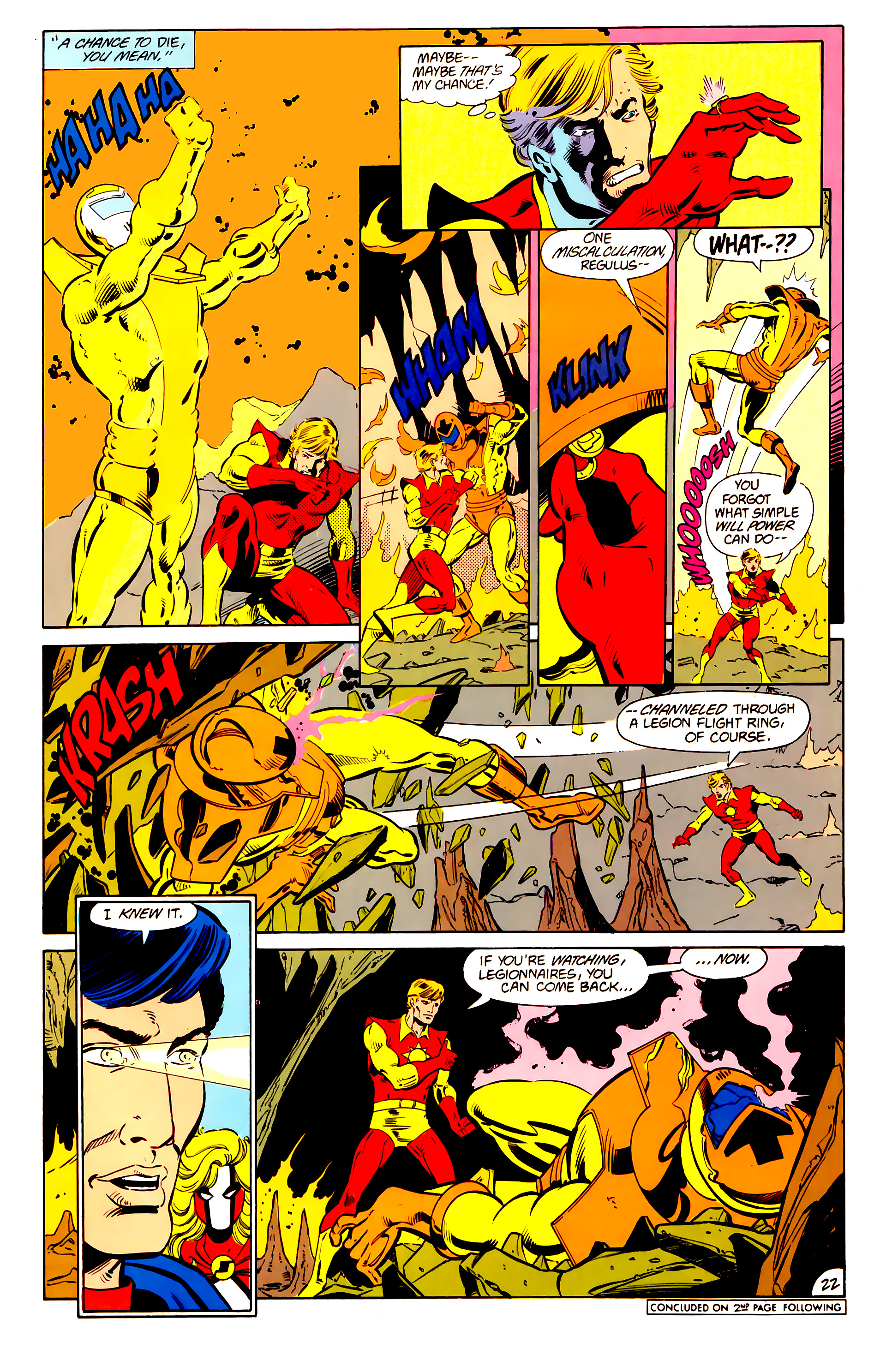 Legion of Super-Heroes (1984) 15 Page 23