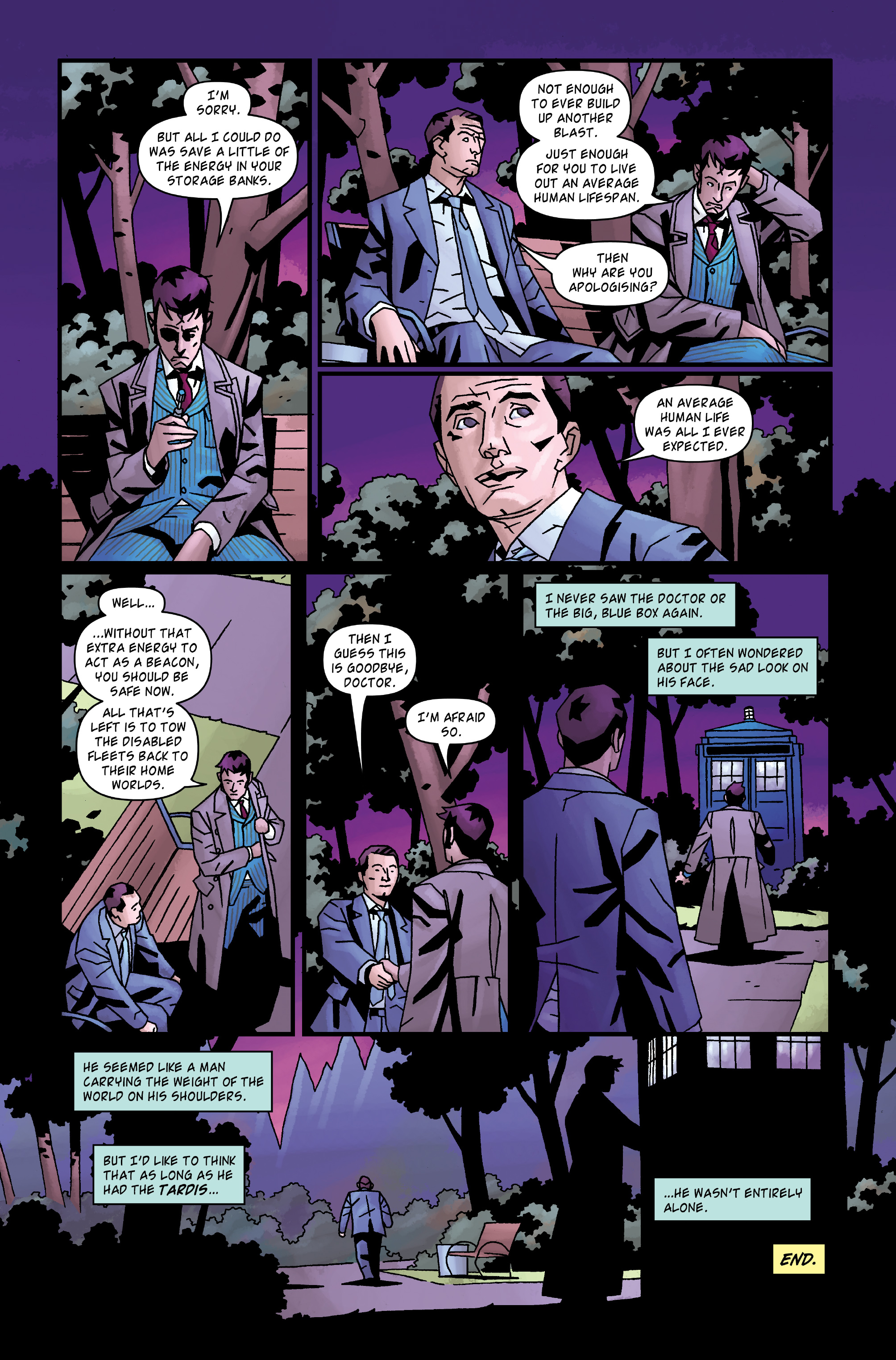Read online Doctor Who: The Tenth Doctor Archives comic -  Issue #35 - 35