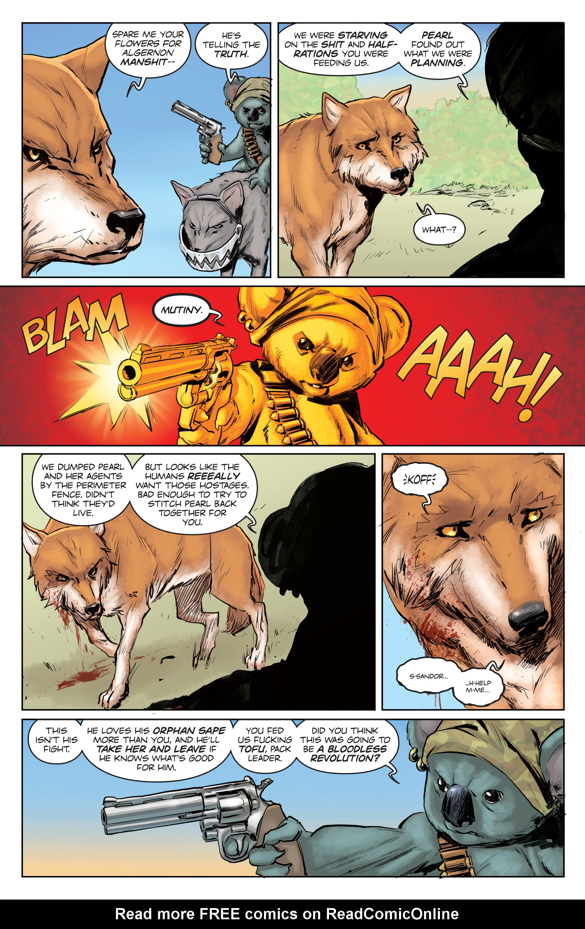 Read online Animosity comic -  Issue #4 - 9