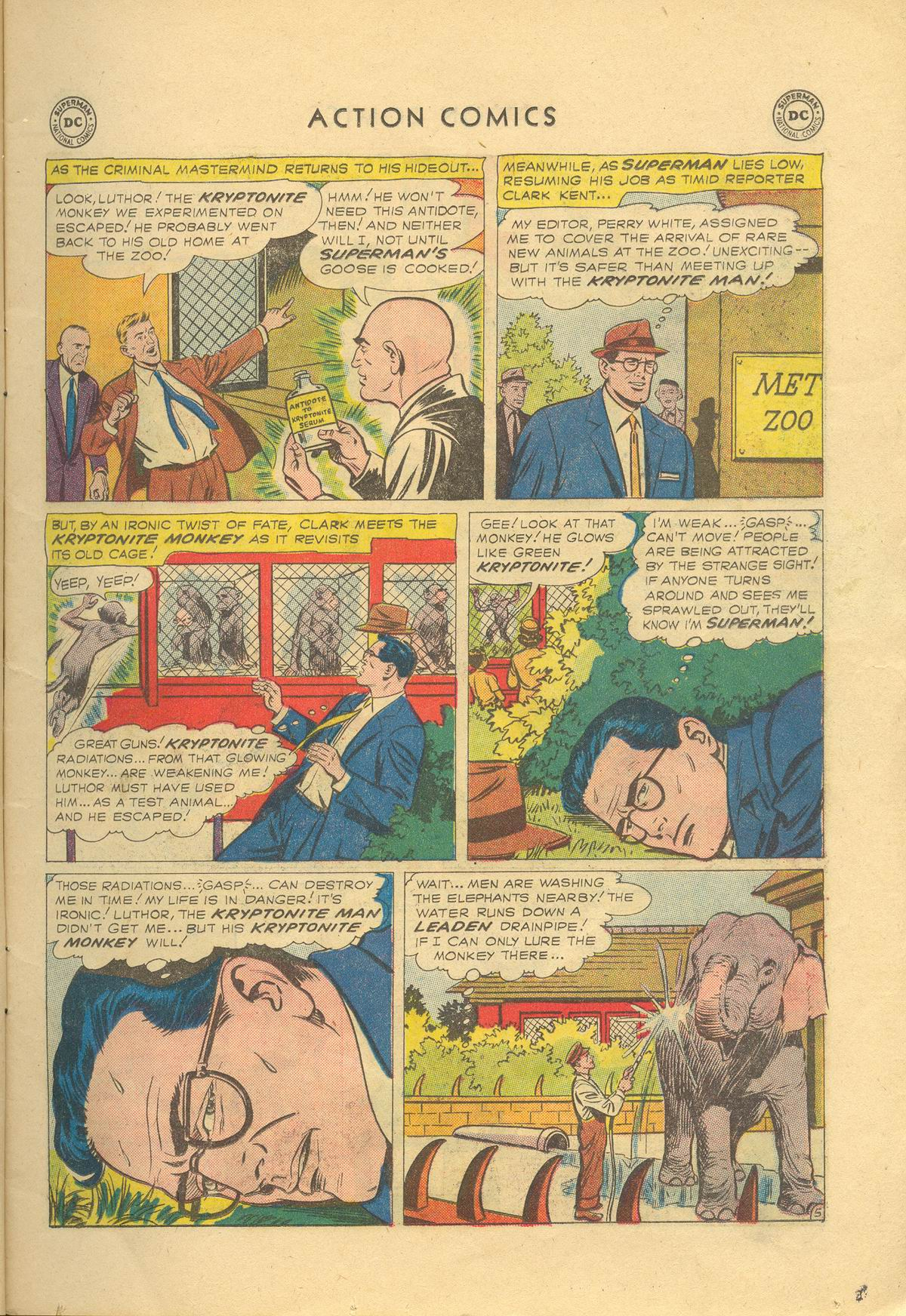 Read online Action Comics (1938) comic -  Issue #249 - 7