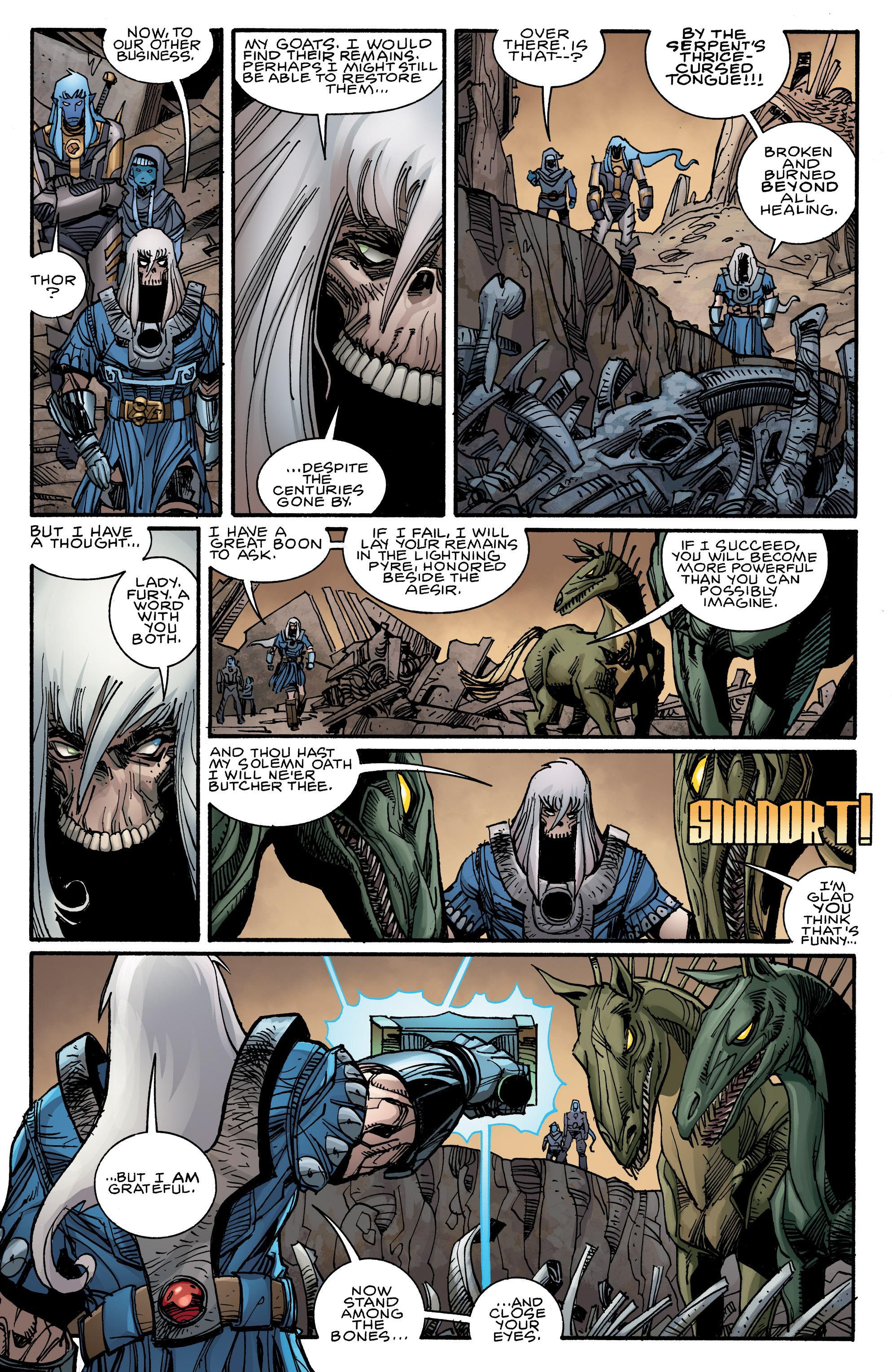 Read online Ragnarok comic -  Issue #9 - 19