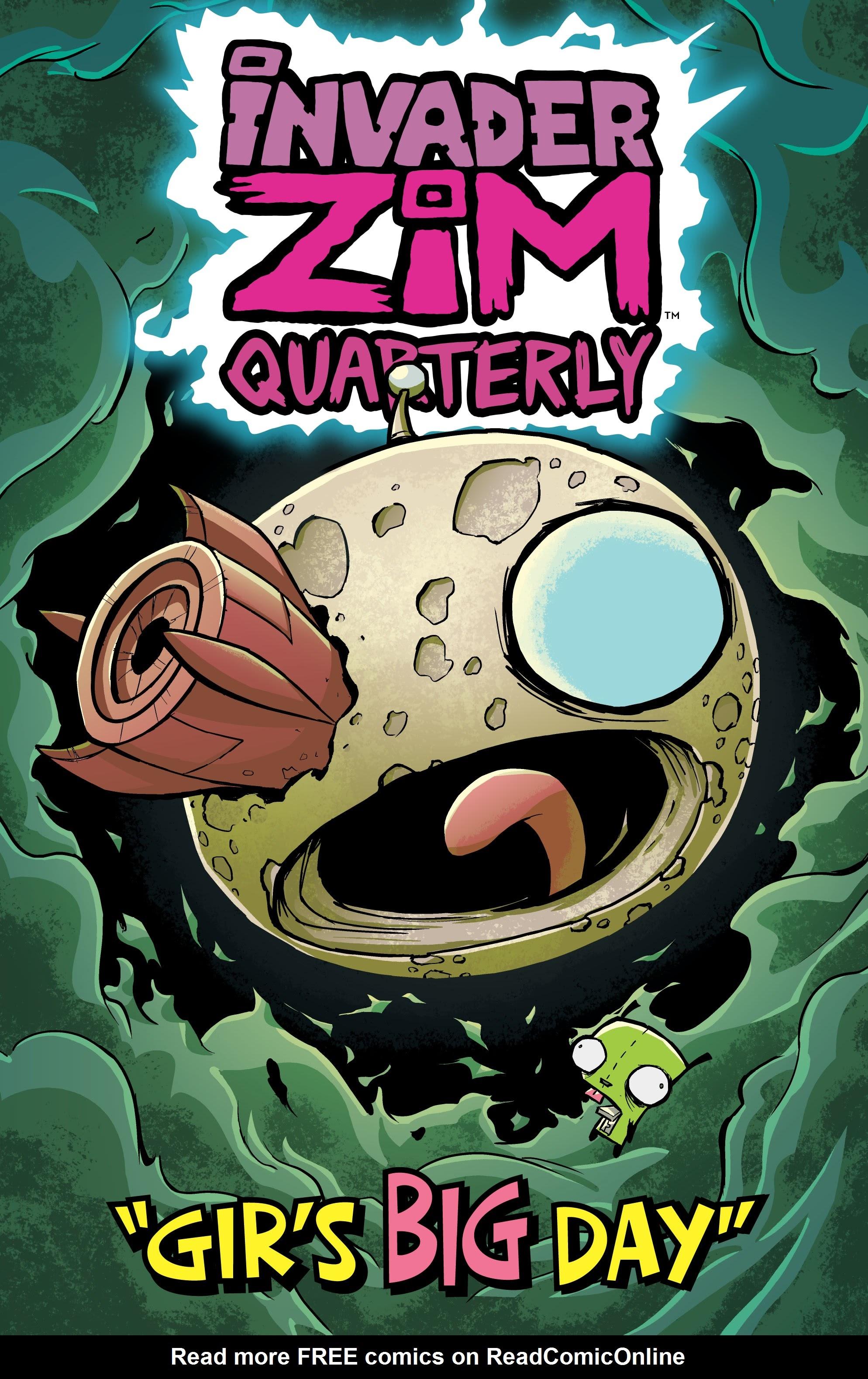 Invader Zim Quarterly: Girs Big Day Full Page 1