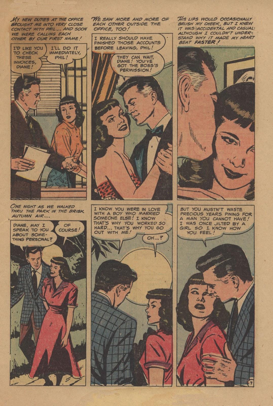 Love Romances (1949) issue 28 - Page 9