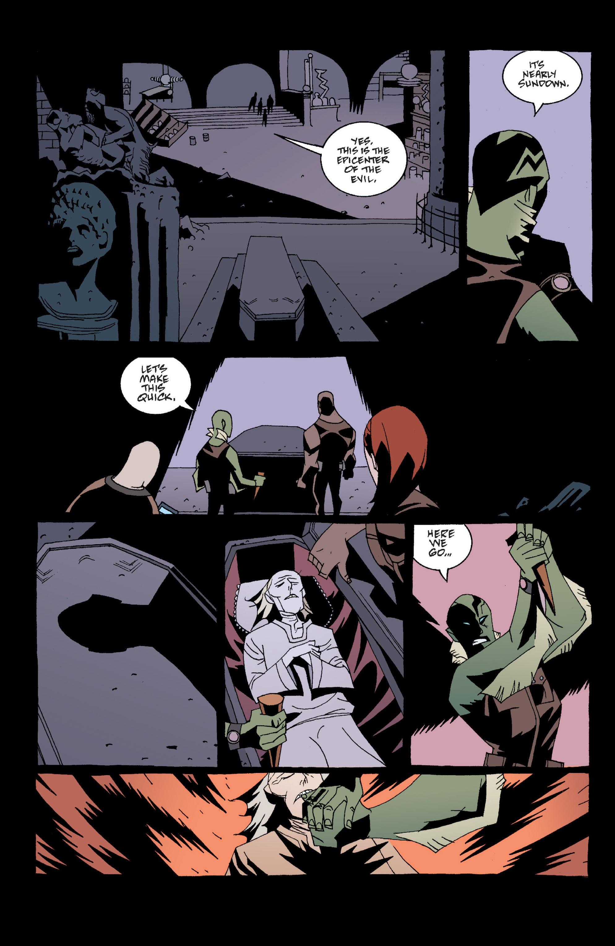 Read online B.P.R.D. (2003) comic -  Issue # TPB 2 - 18