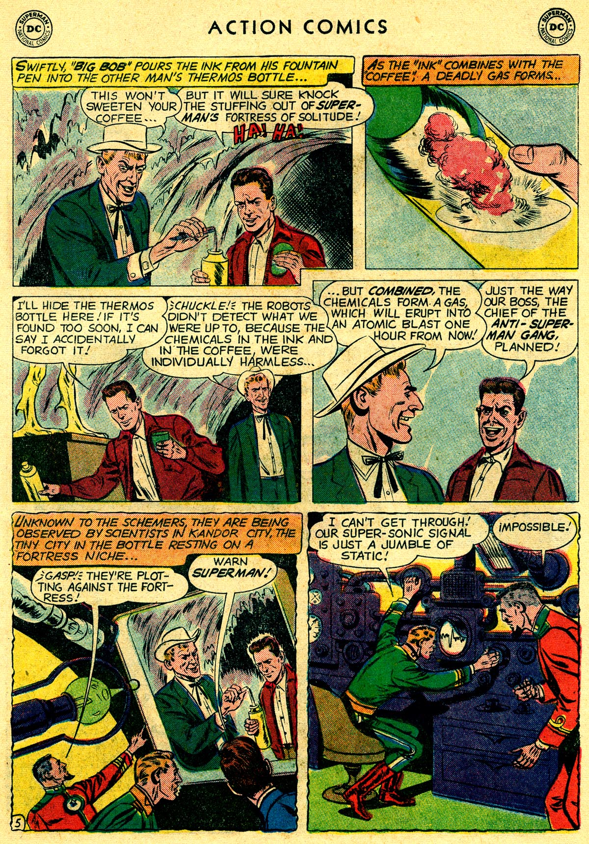 Read online Action Comics (1938) comic -  Issue #261 - 7
