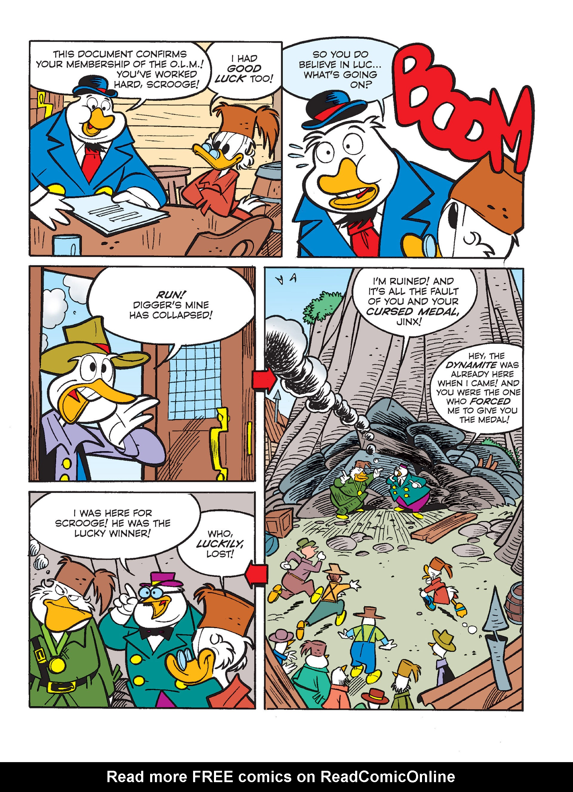Read online All of Scrooge McDuck's Millions comic -  Issue #1 - 25