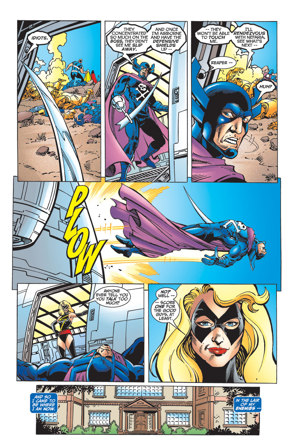Read online Avengers (1998) comic -  Issue #33 - 15