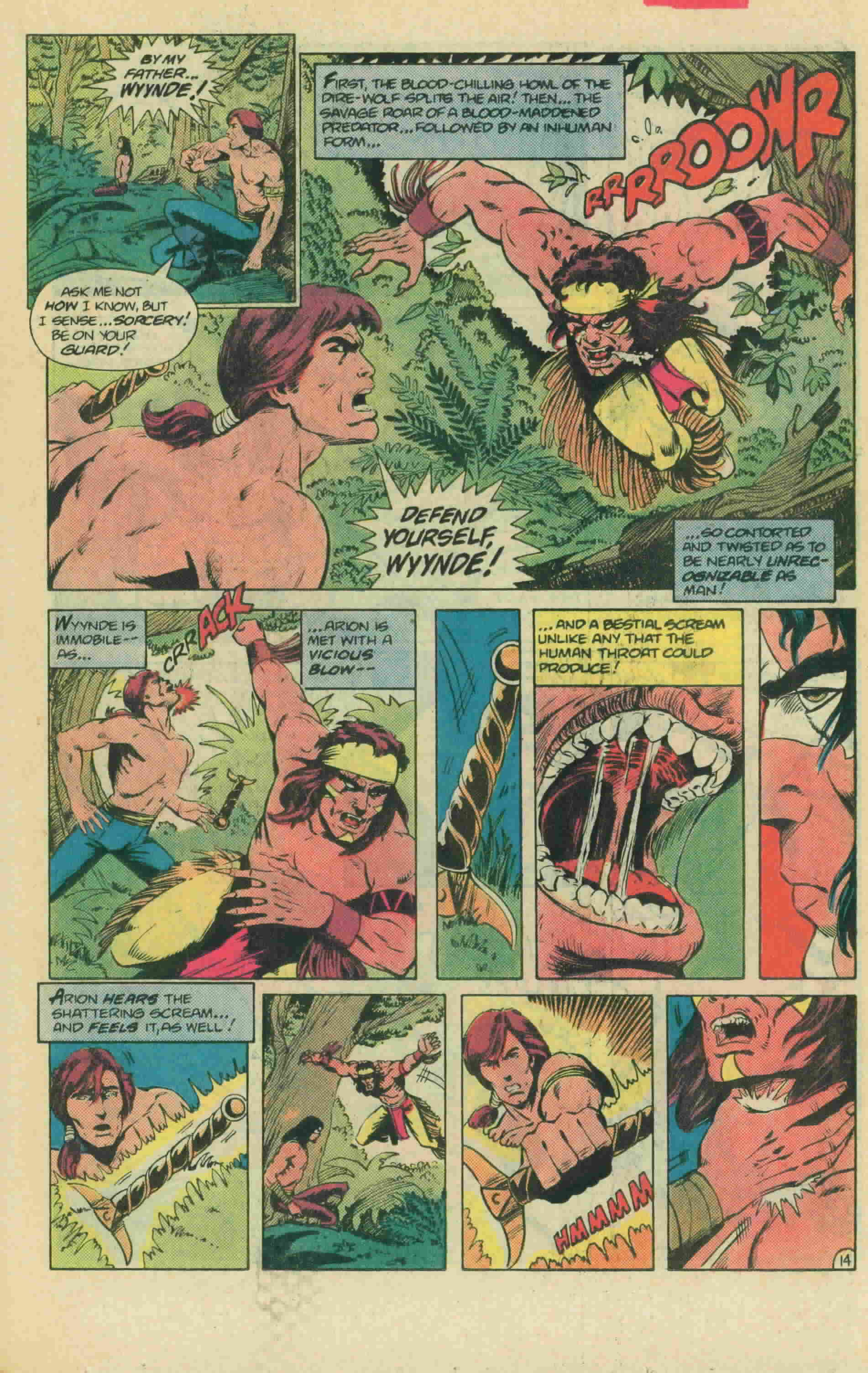 Read online Arion, Lord of Atlantis comic -  Issue #13 - 20