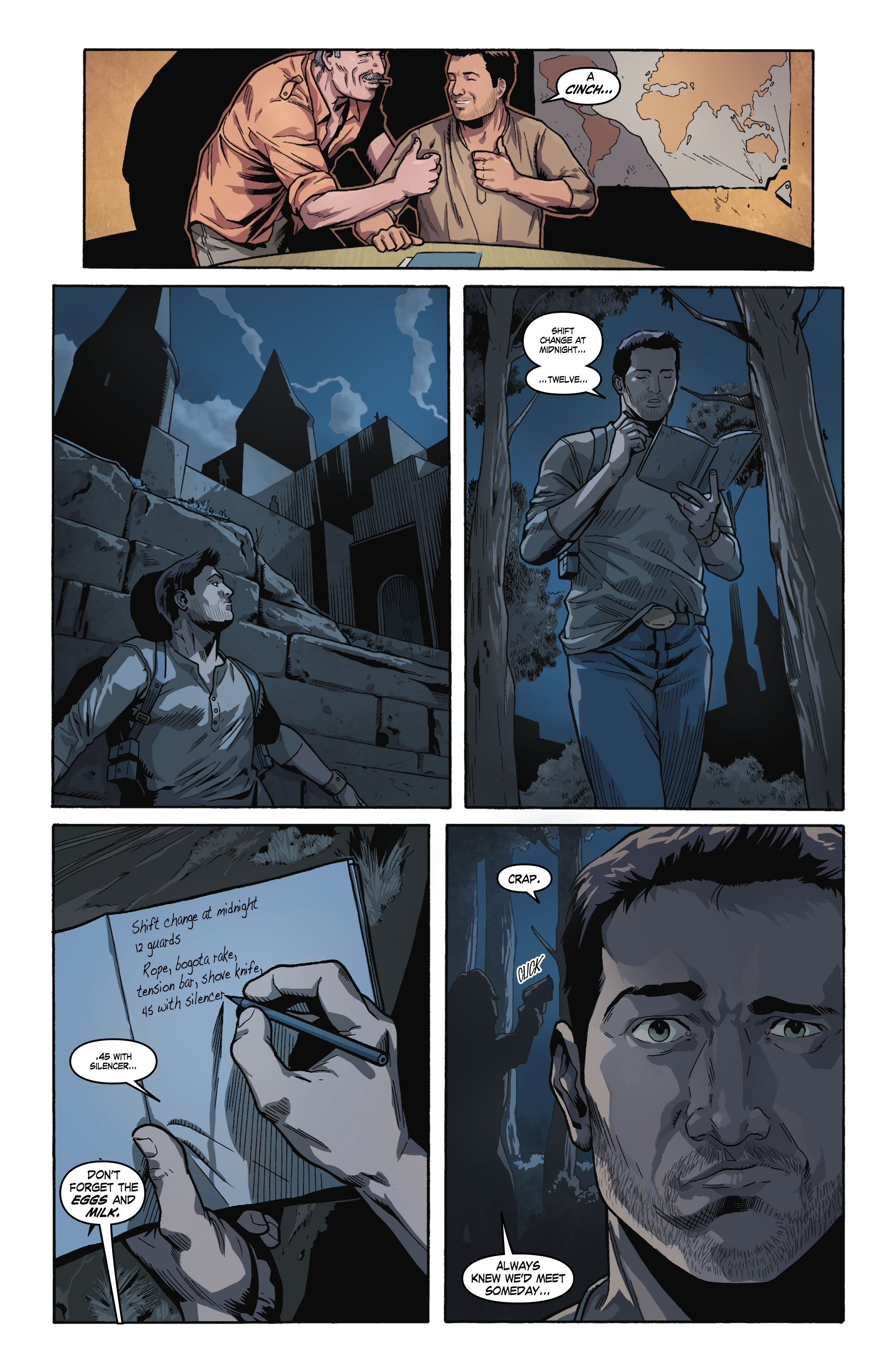 Read online Uncharted comic -  Issue #1 - 20