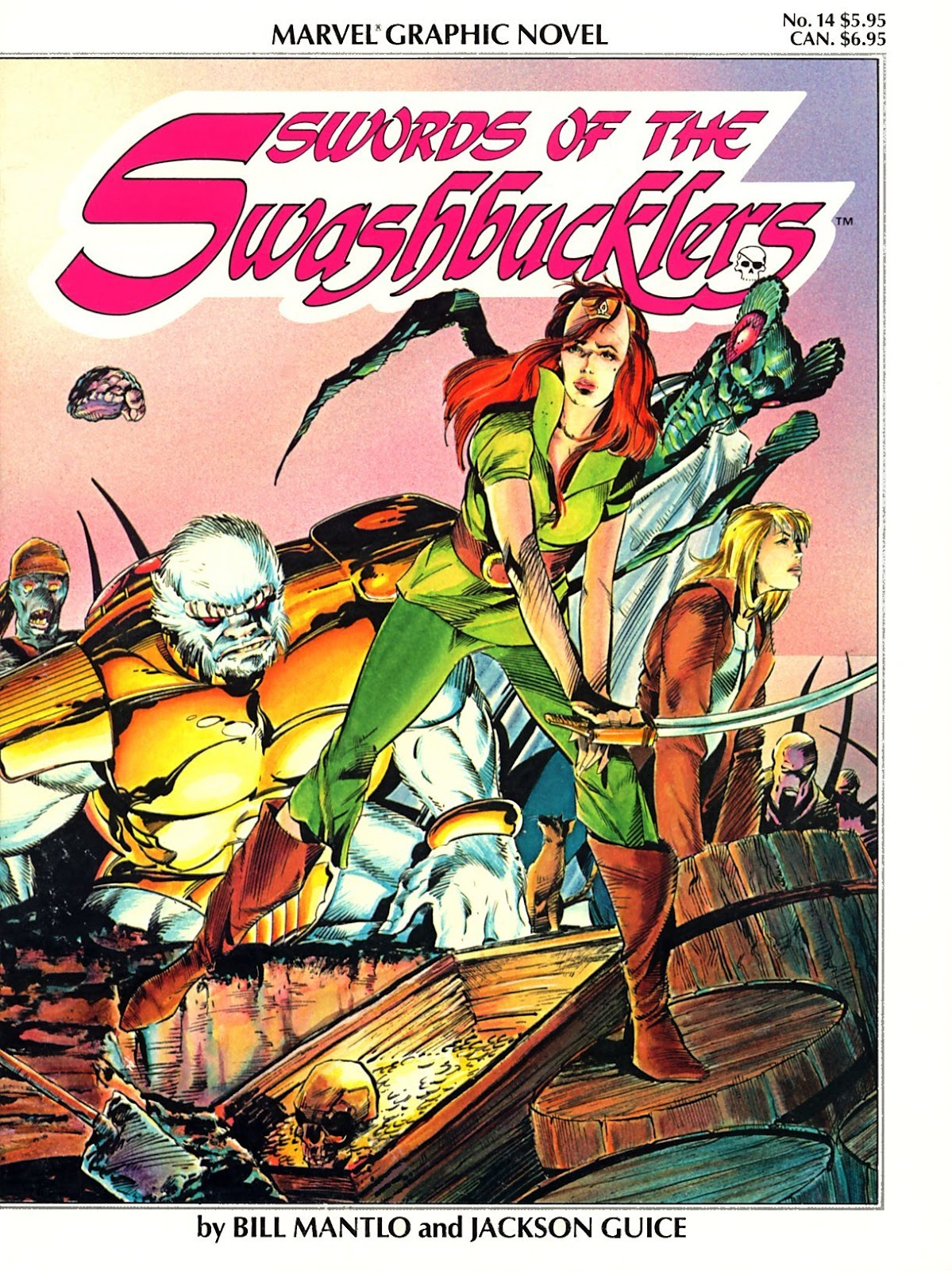 Marvel Graphic Novel 14_-_Swords_of_the_Swashbucklers Page 1