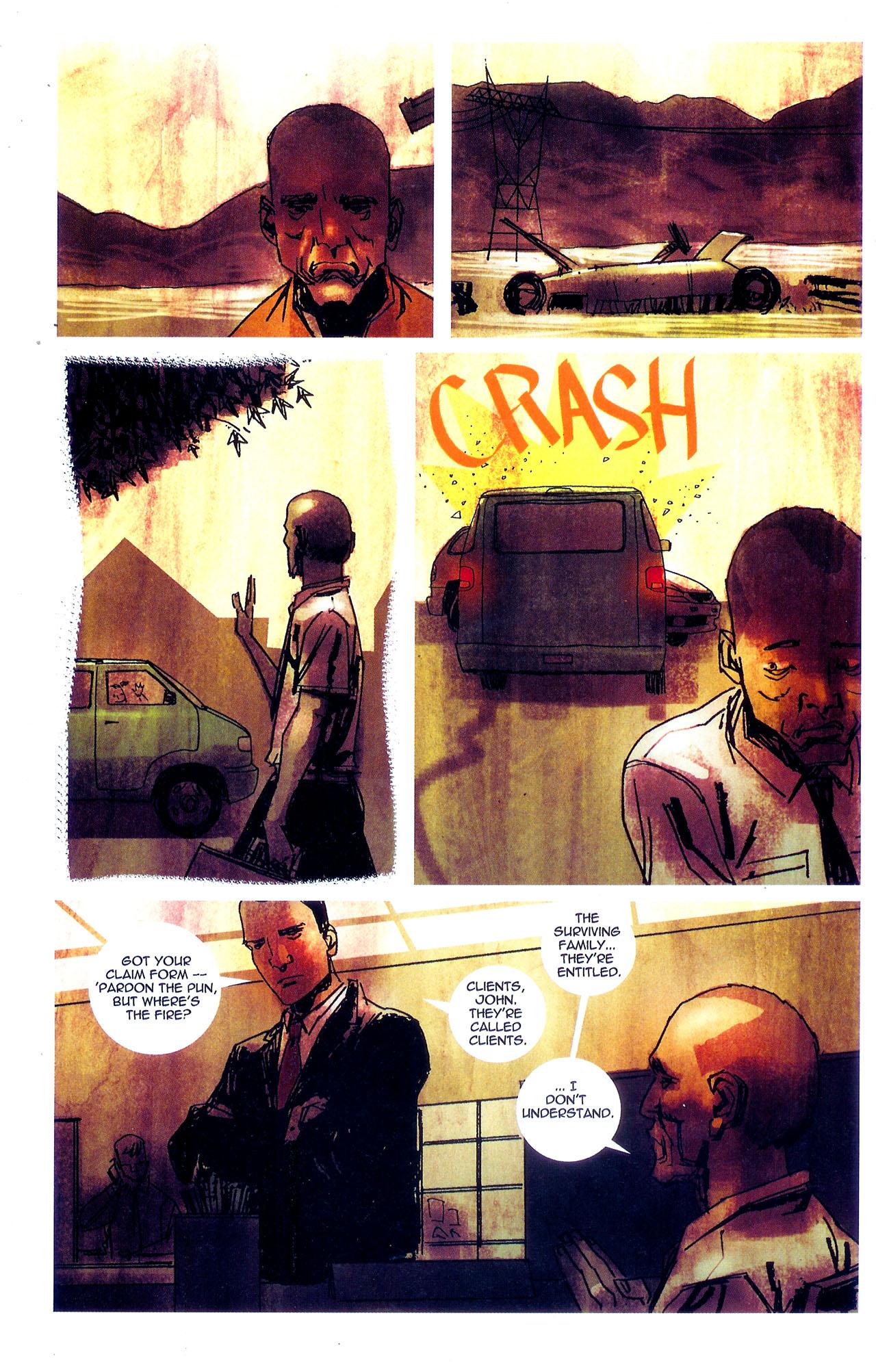 Read online Se7en comic -  Issue #7 - 18