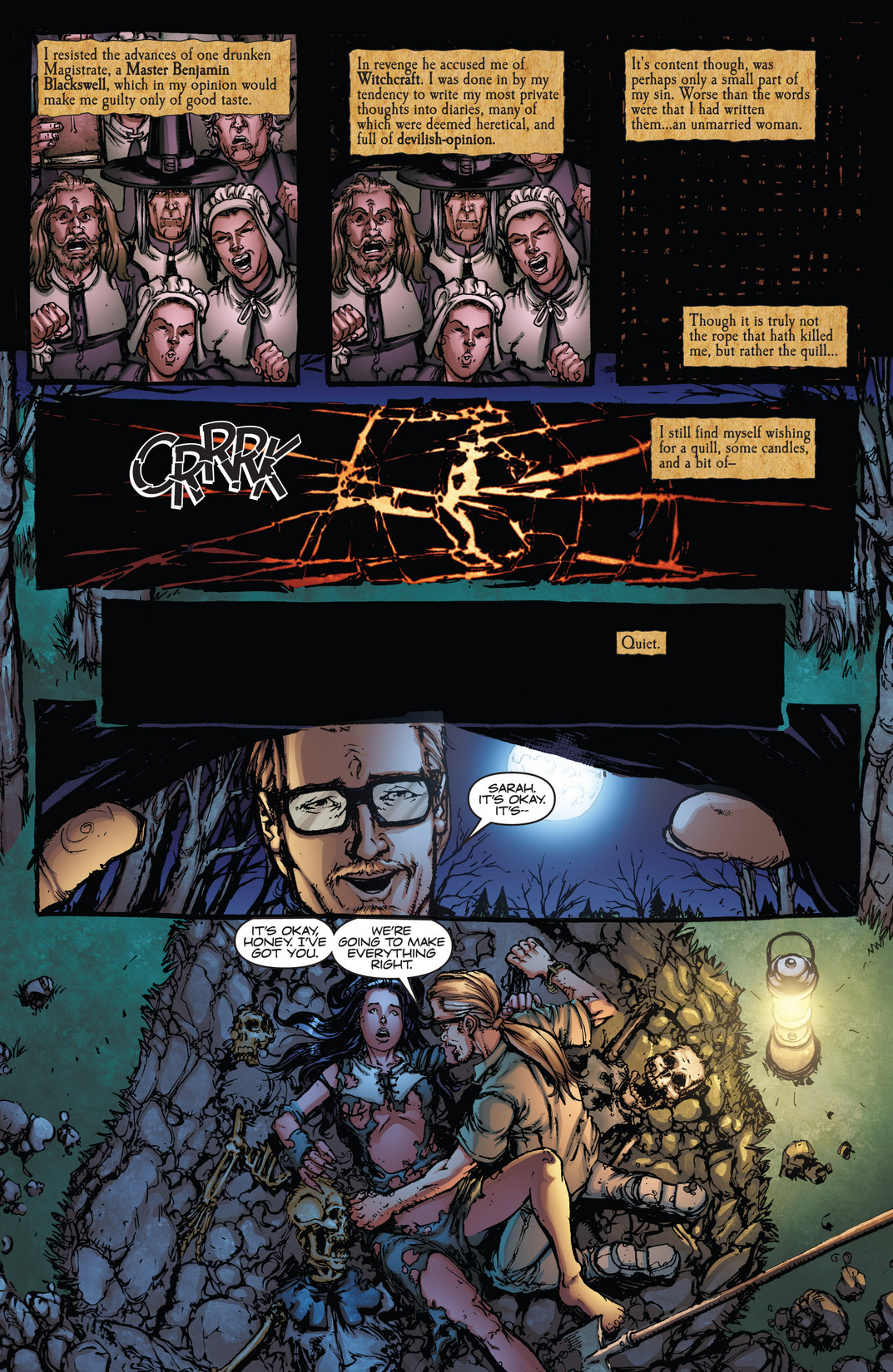 Read online Army of Darkness vs. Hack/Slash comic -  Issue #4 - 4