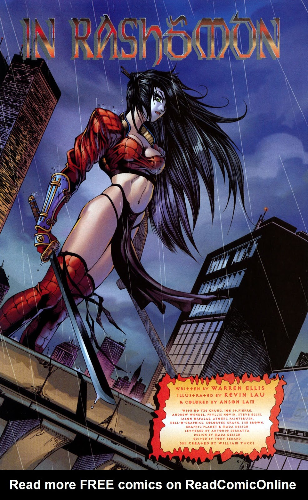 Shi/Vampirella issue Full - Page 6