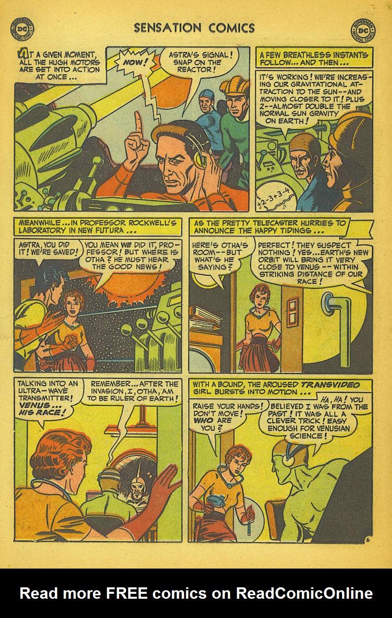 Read online Sensation (Mystery) Comics comic -  Issue #104 - 32