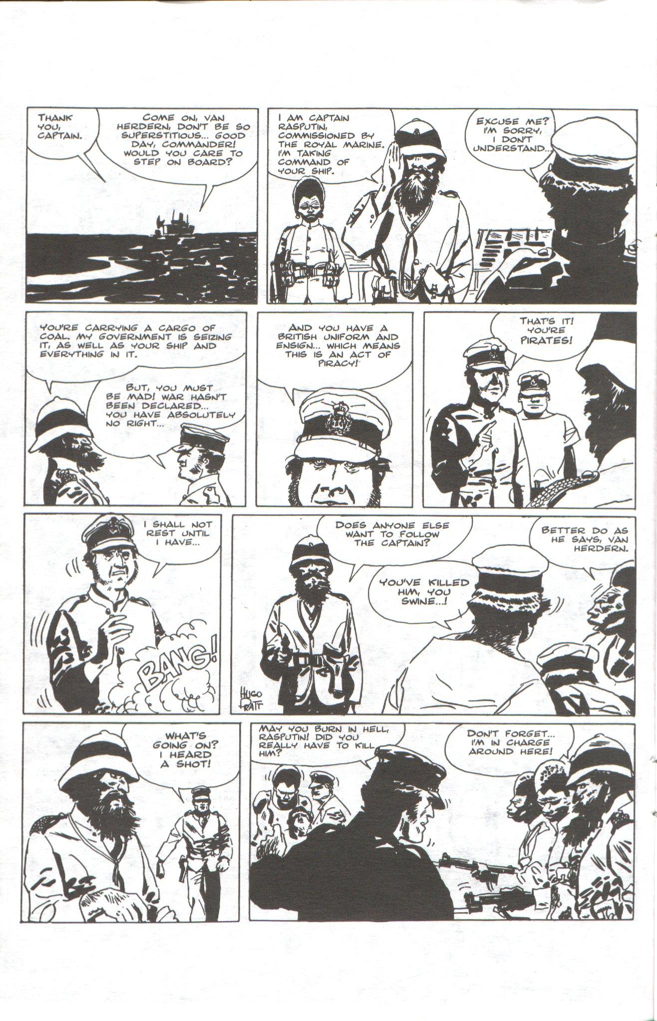 Read online Corto Maltese: Ballad of the Salt Sea comic -  Issue #1 - 12