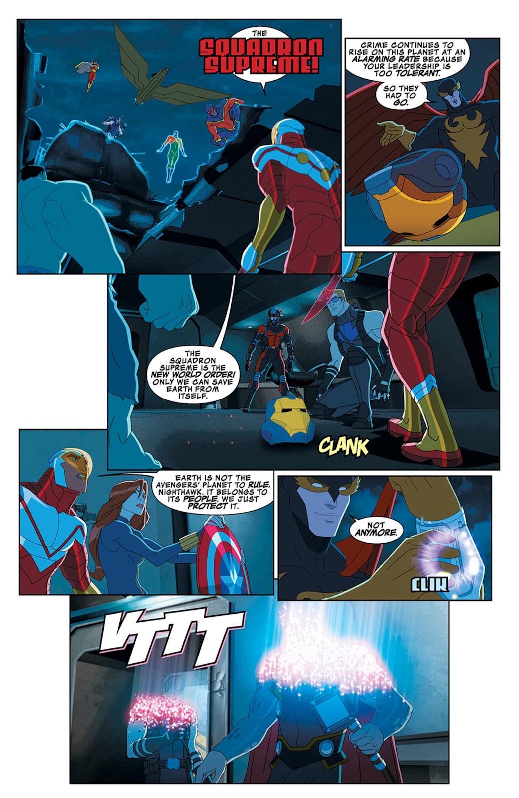 Read online Marvel Universe Avengers Assemble Season 2 comic -  Issue #13 - 5