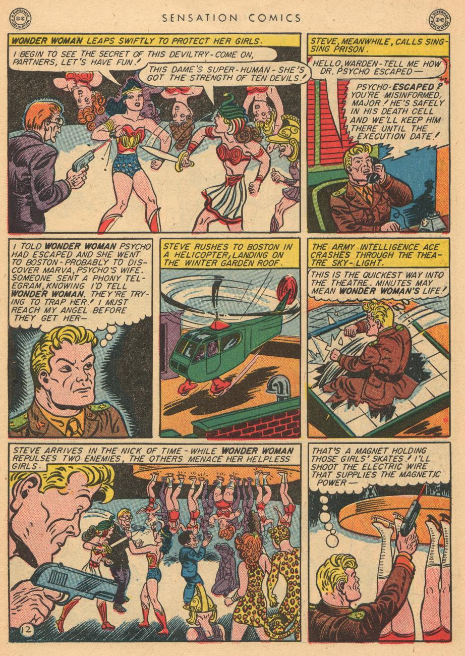 Read online Sensation (Mystery) Comics comic -  Issue #36 - 14