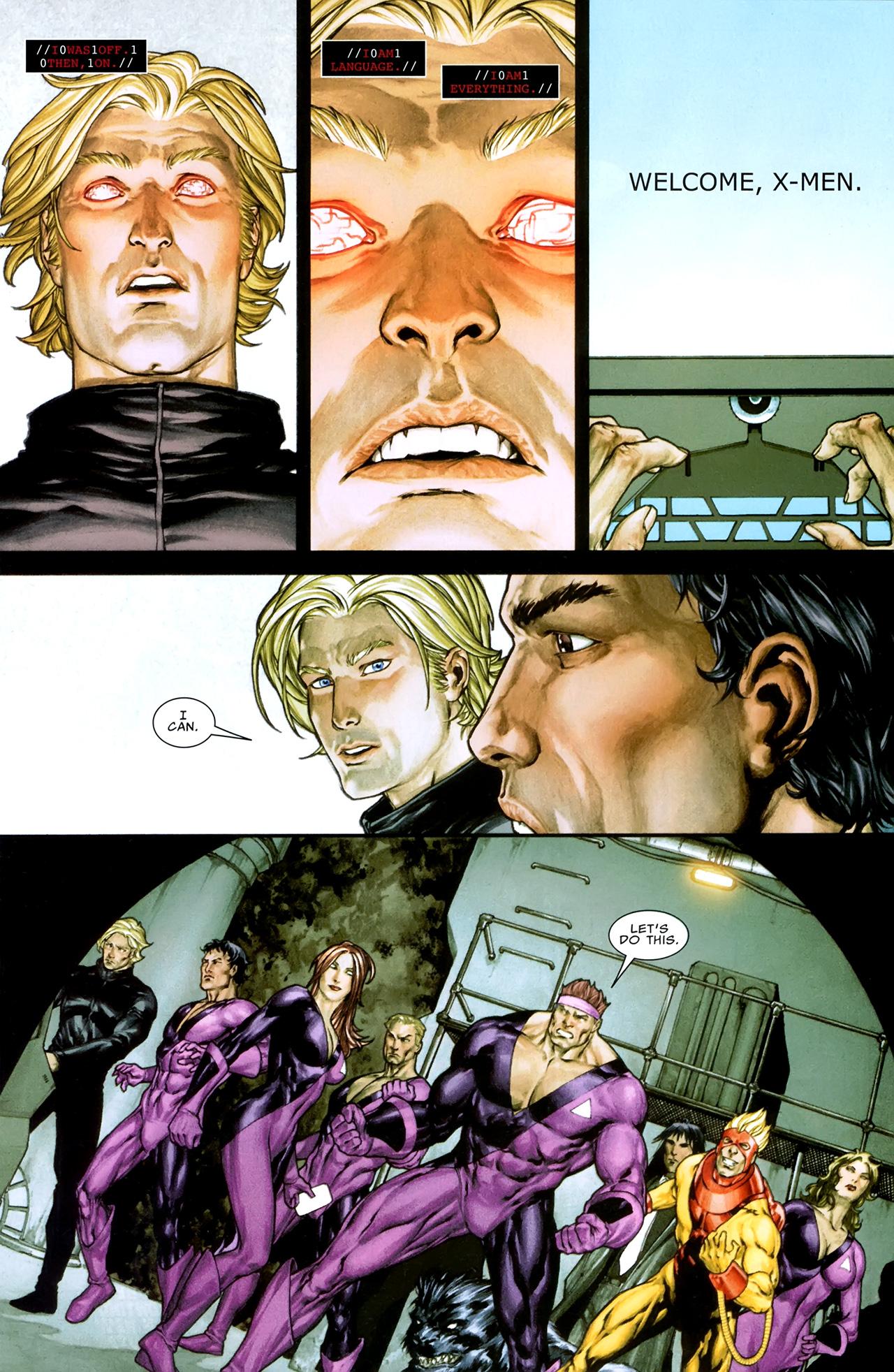 Read online X Necrosha comic -  Issue # Full - 37