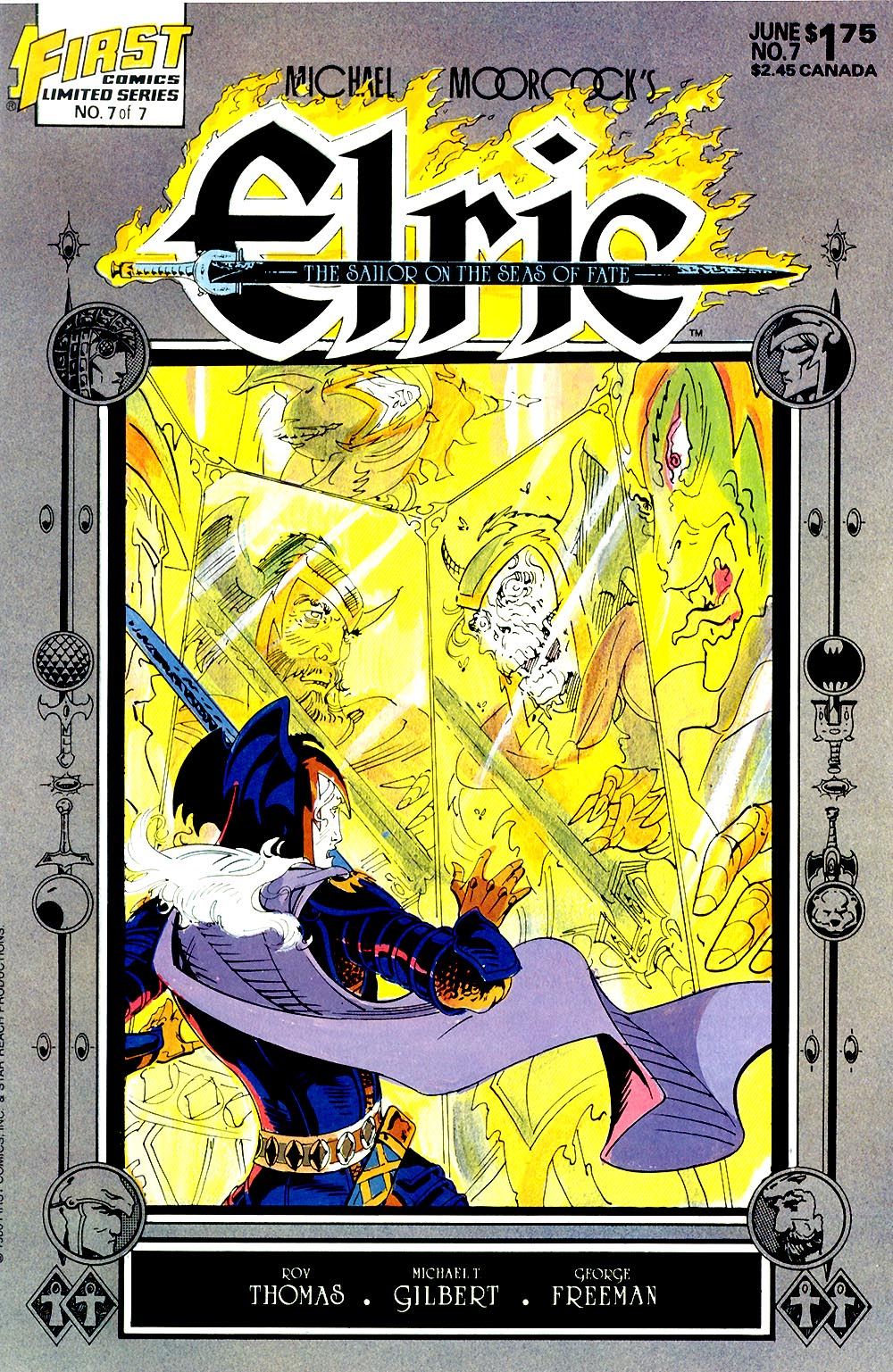 Read online Elric: Sailor on the Seas of Fate comic -  Issue #7 - 1