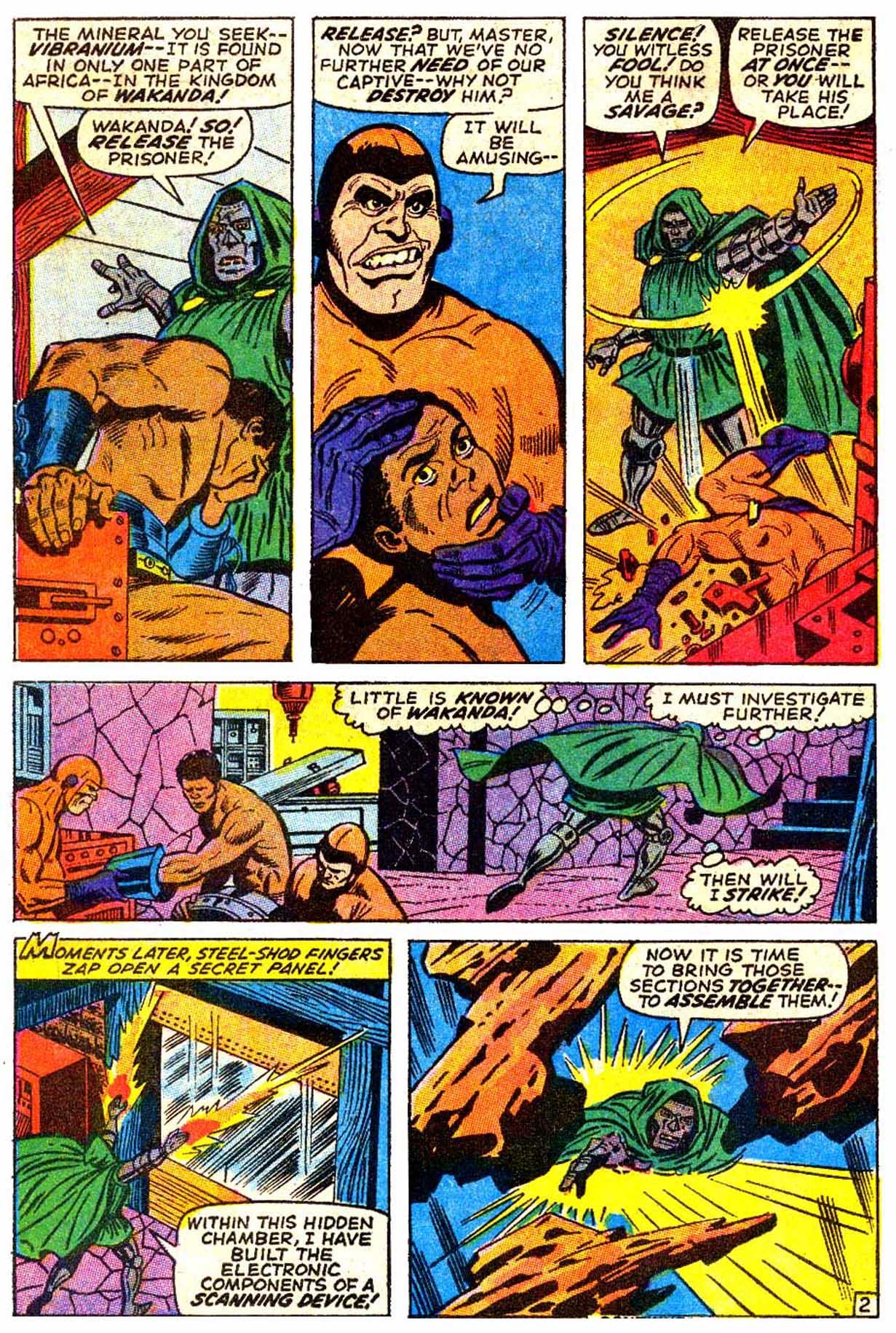 Read online Astonishing Tales (1970) comic -  Issue #6 - 3