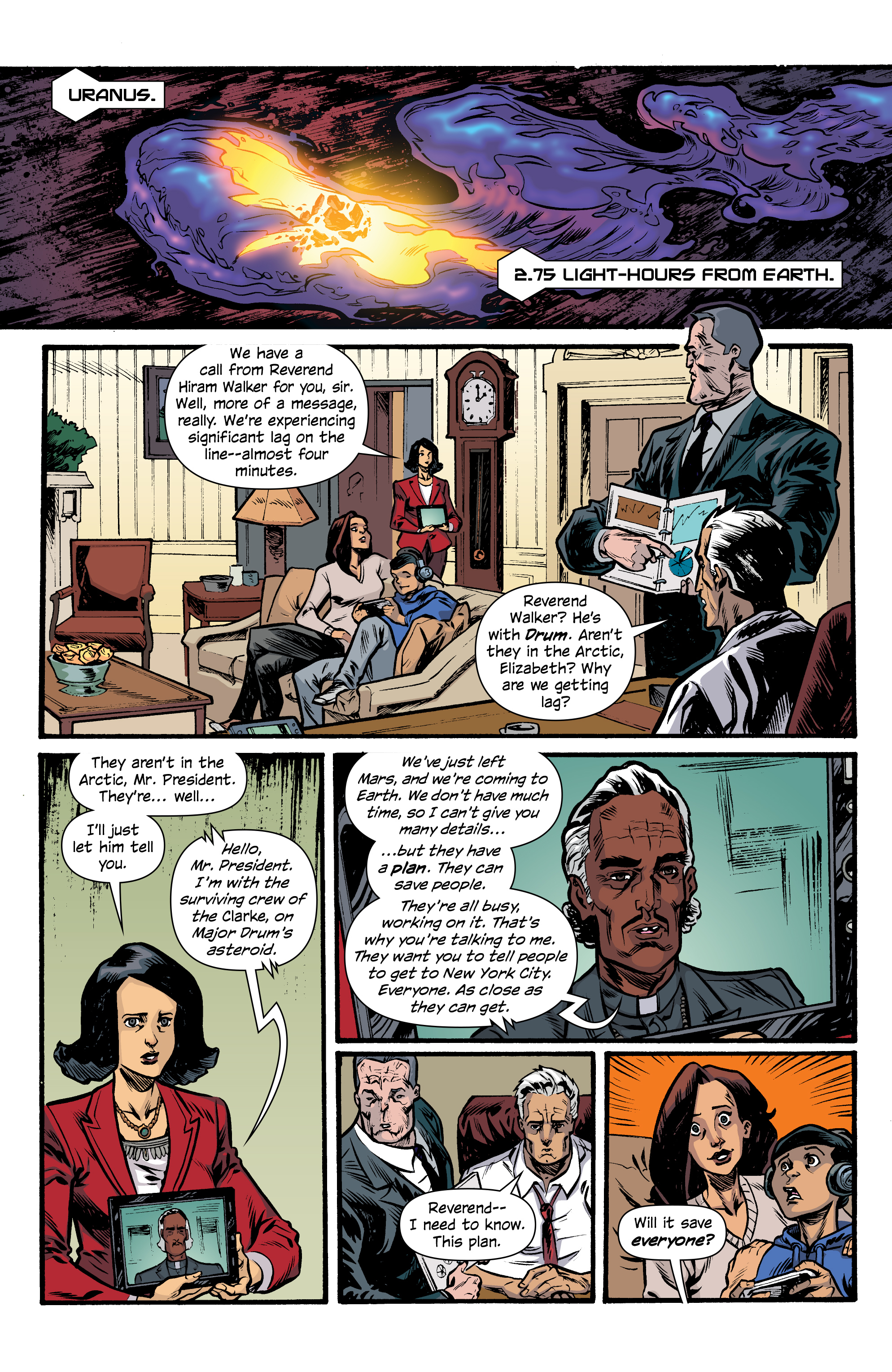 Read online Letter 44 comic -  Issue #33 - 13