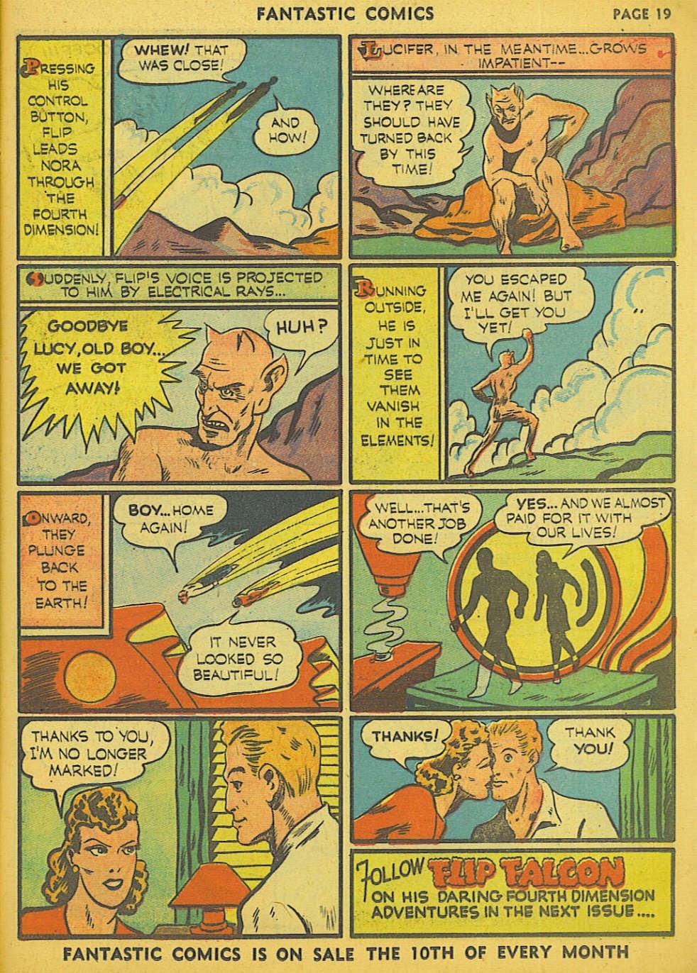 Read online Fantastic Comics comic -  Issue #15 - 12