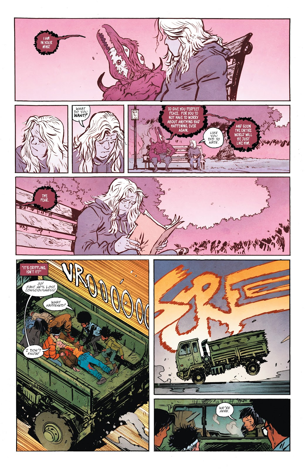 Read online Murder Falcon comic -  Issue #7 - 8