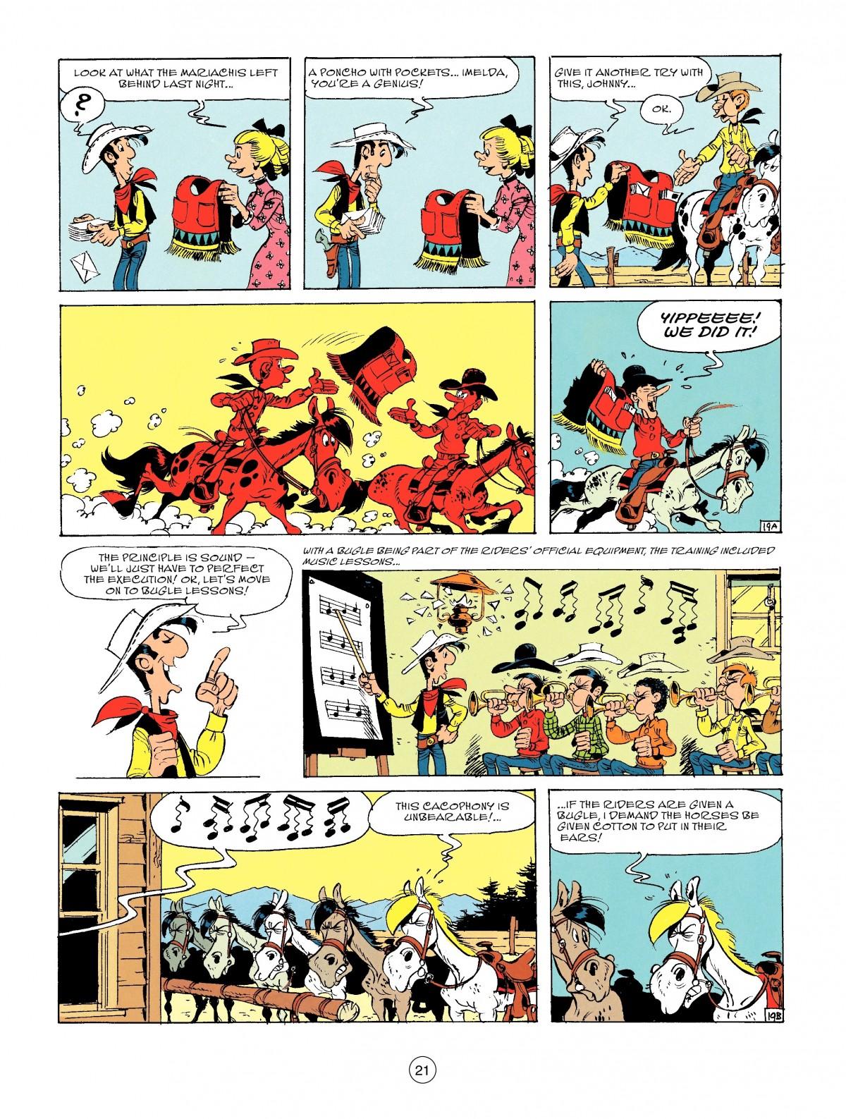 Read online A Lucky Luke Adventure comic -  Issue #46 - 21