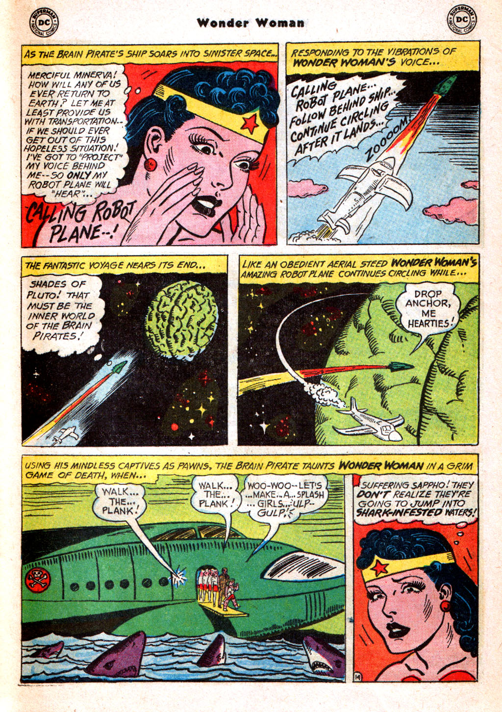 Read online Wonder Woman (1942) comic -  Issue #156 - 21