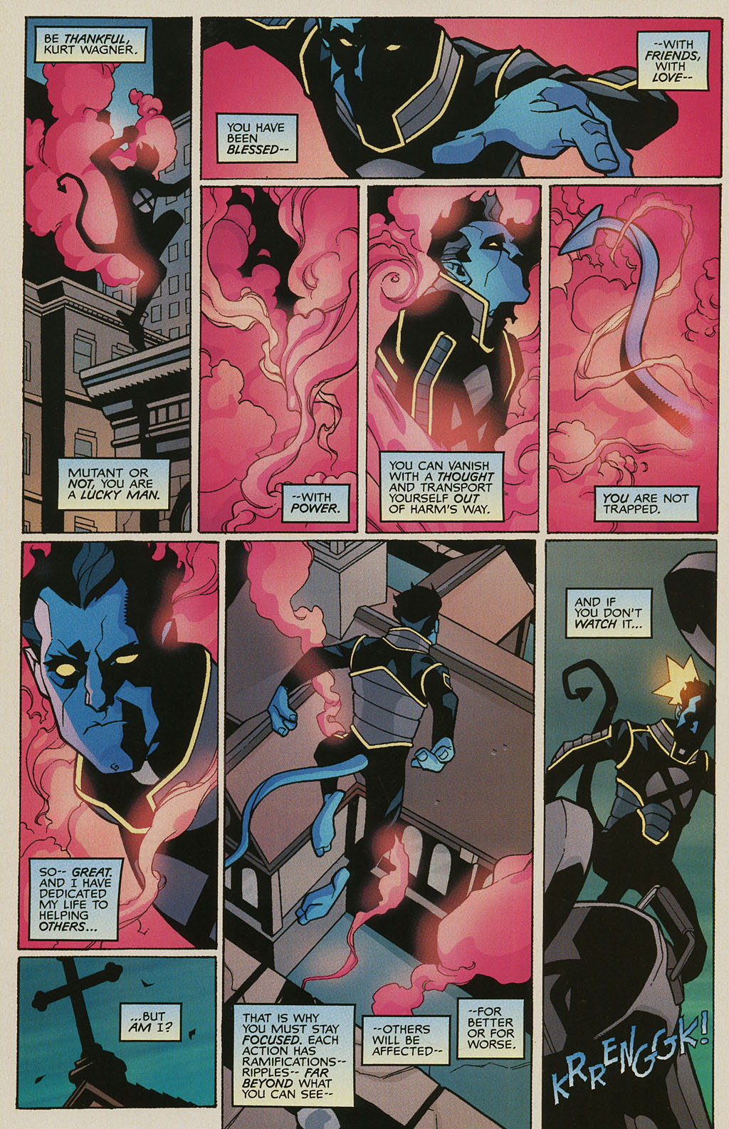 Read online Nightcrawler (2002) comic -  Issue #3 - 10