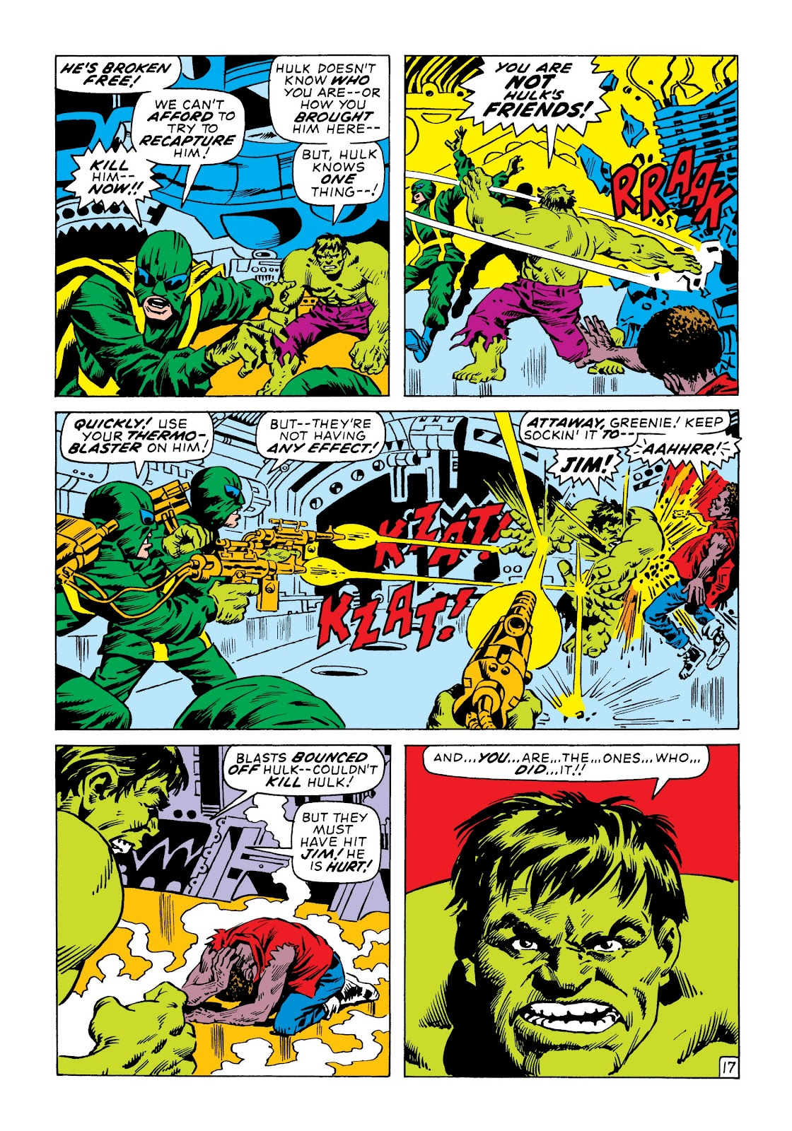 Read online Marvel Masterworks: The Incredible Hulk comic -  Issue # TPB 6 (Part 3) - 30