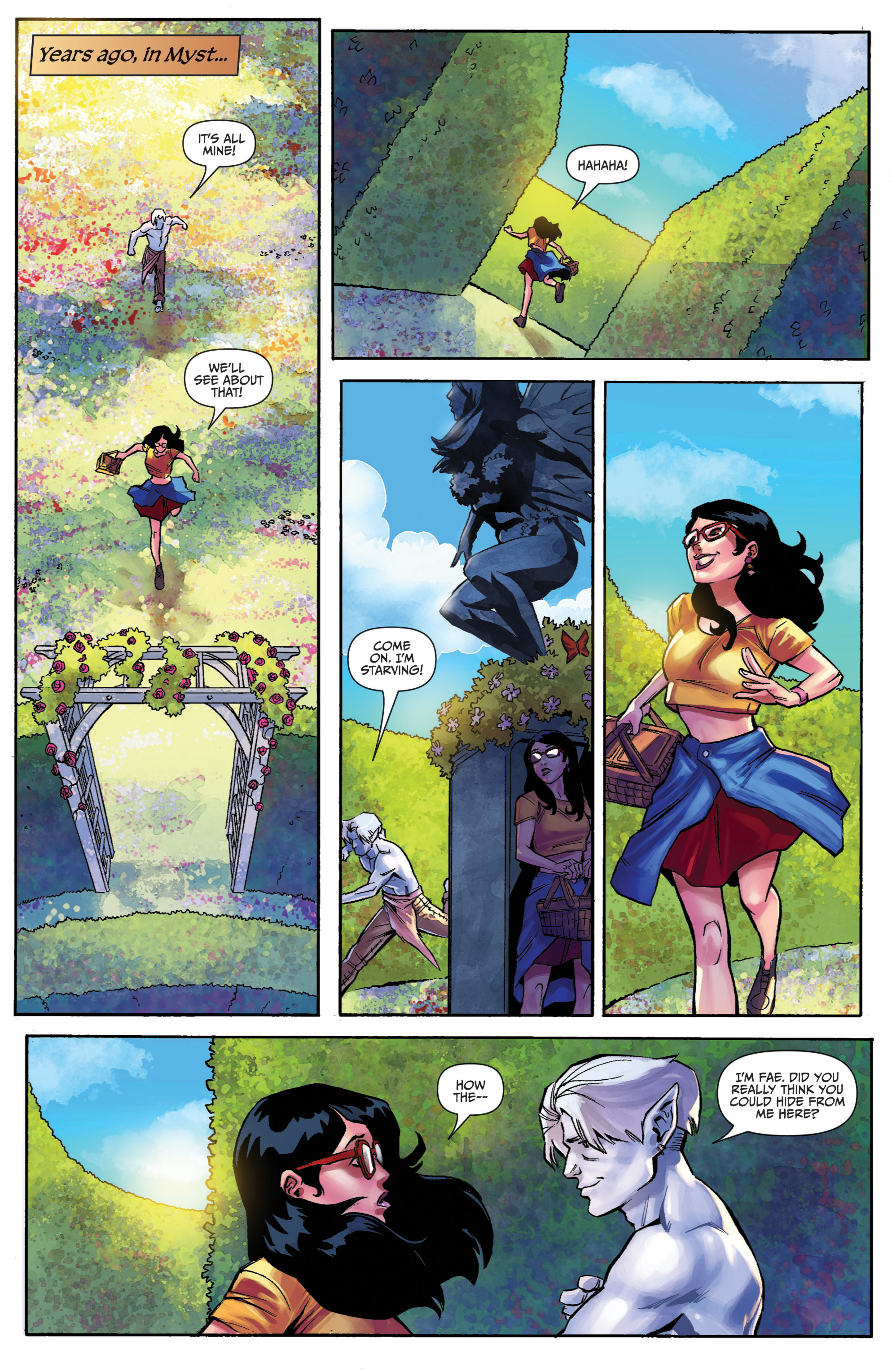 Read online Snow White vs. Snow White comic -  Issue #2 - 3