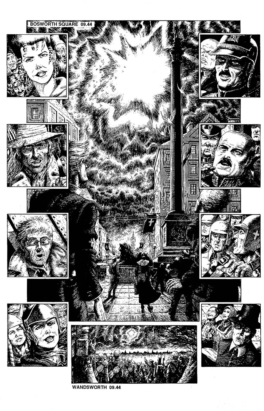 Read online The Adventures of Luther Arkwright comic -  Issue #8 - 18