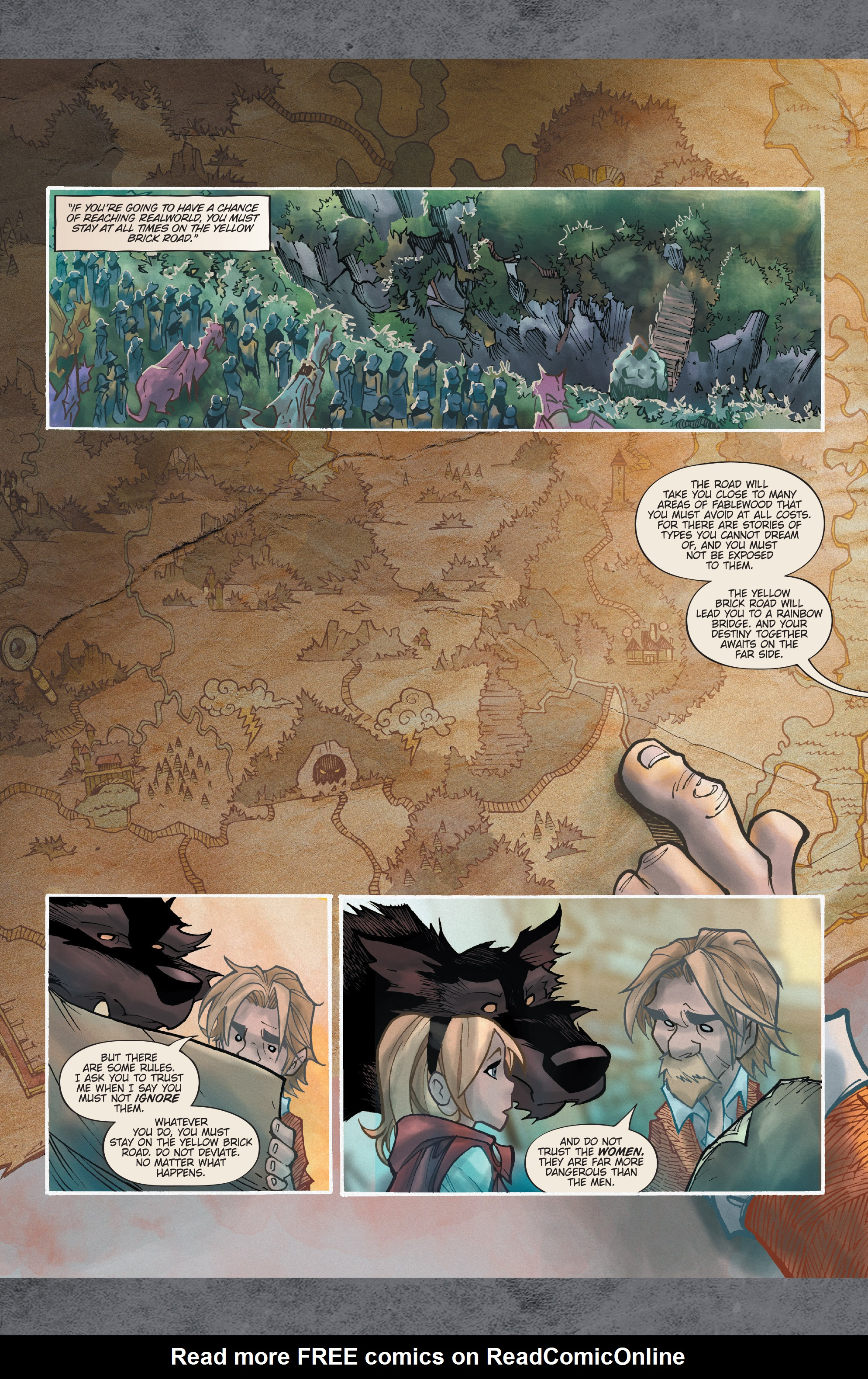 Read online Fairy Quest: Outcasts comic -  Issue #2 - 12