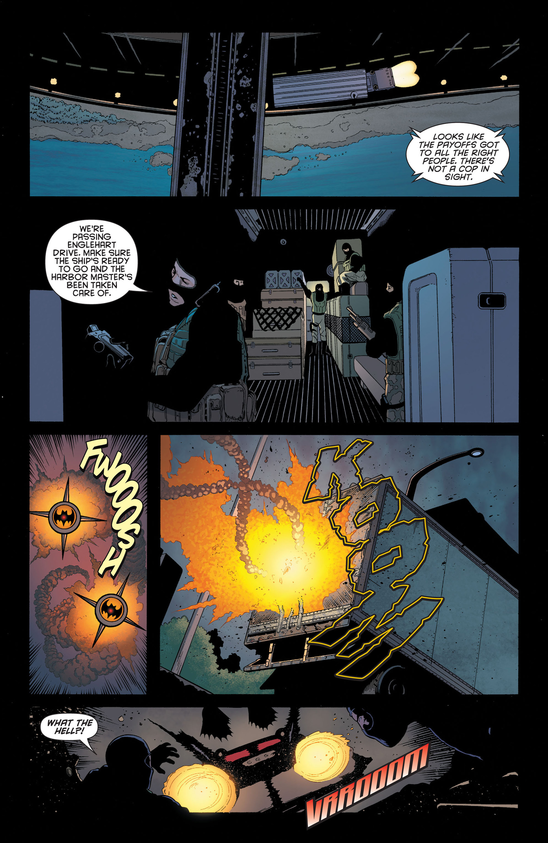 Read online Batman and Robin (2011) comic -  Issue #2 - 6