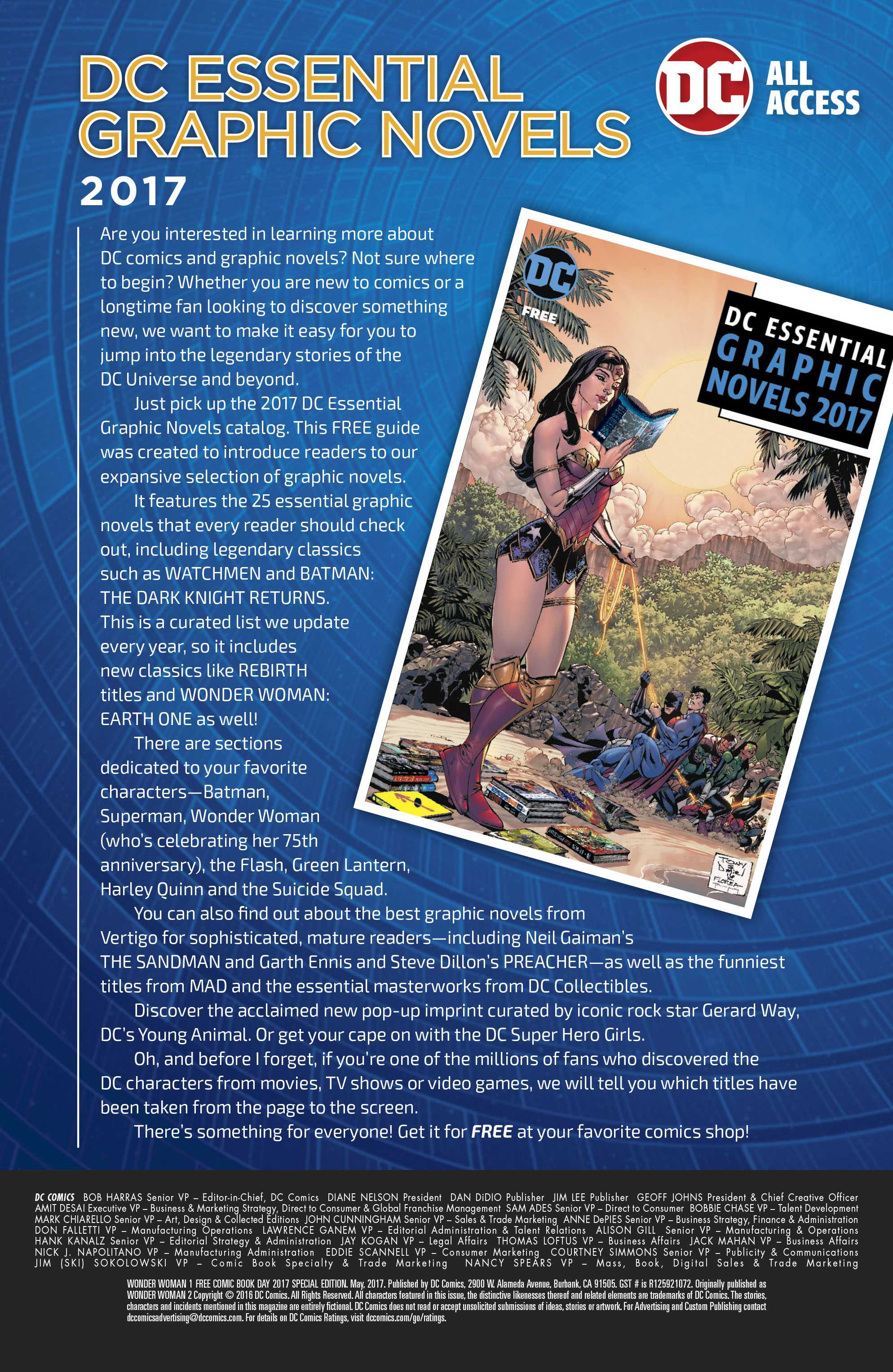Read online Free Comic Book Day 2017 comic -  Issue # Wonder Woman - 22