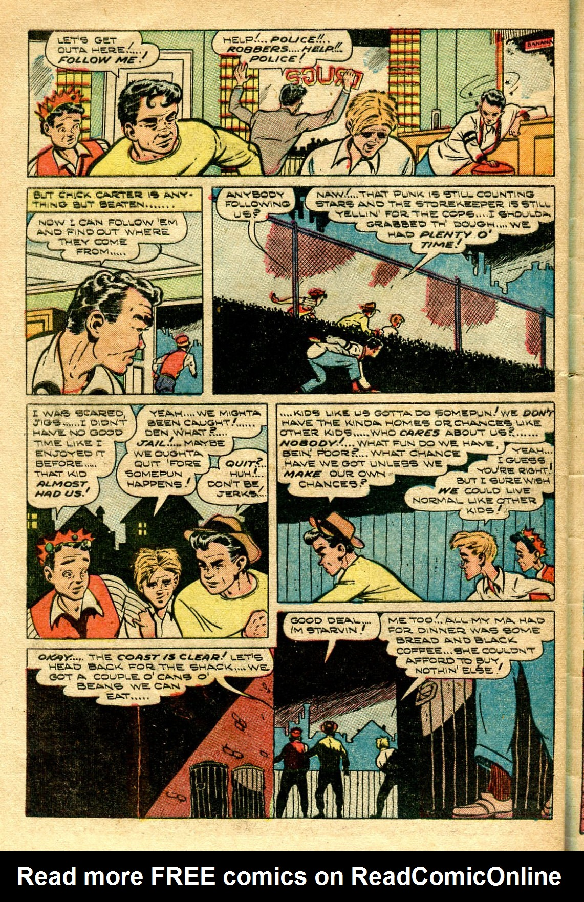 Read online Shadow Comics comic -  Issue #96 - 42