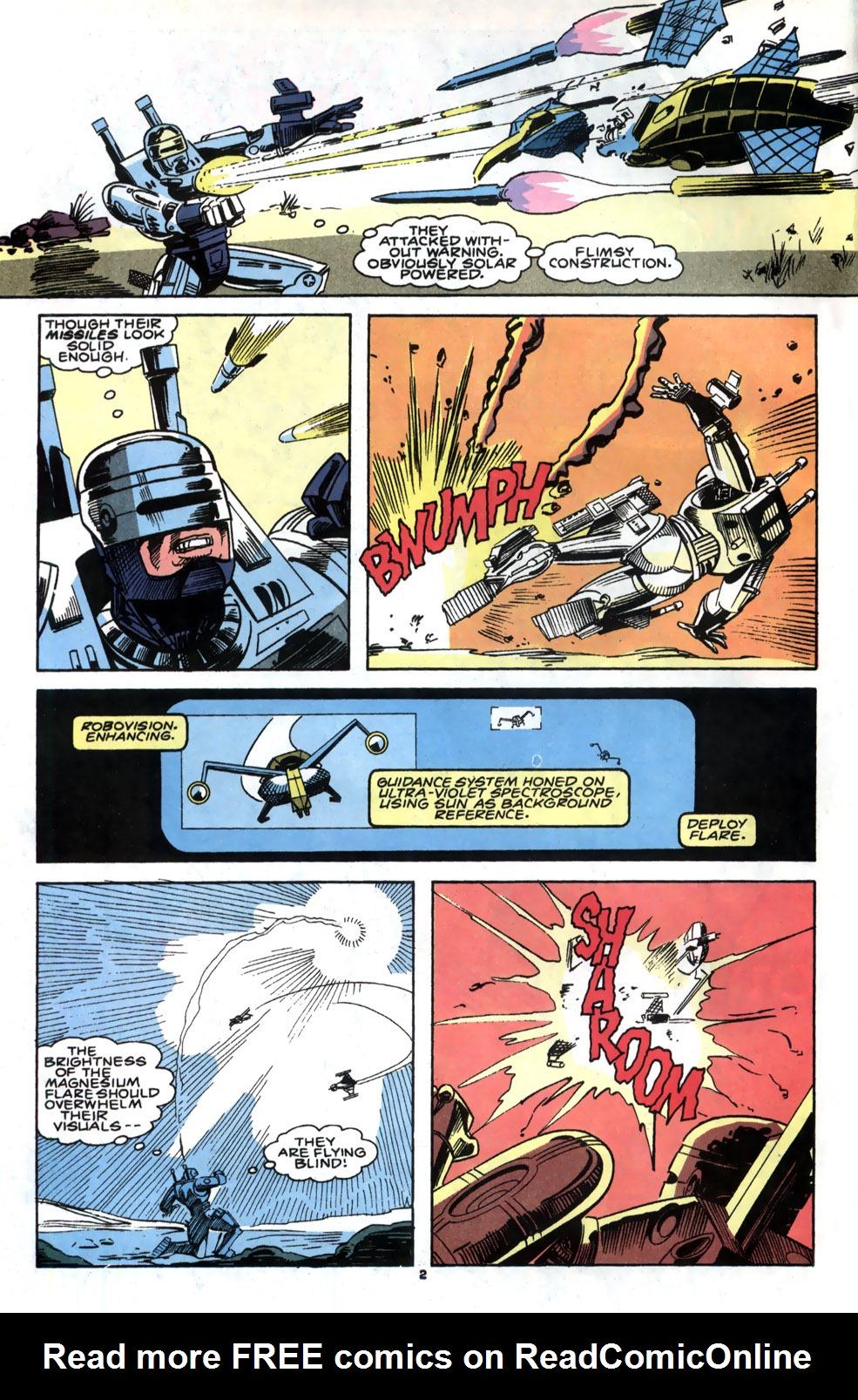 Read online Robocop (1990) comic -  Issue #5 - 3