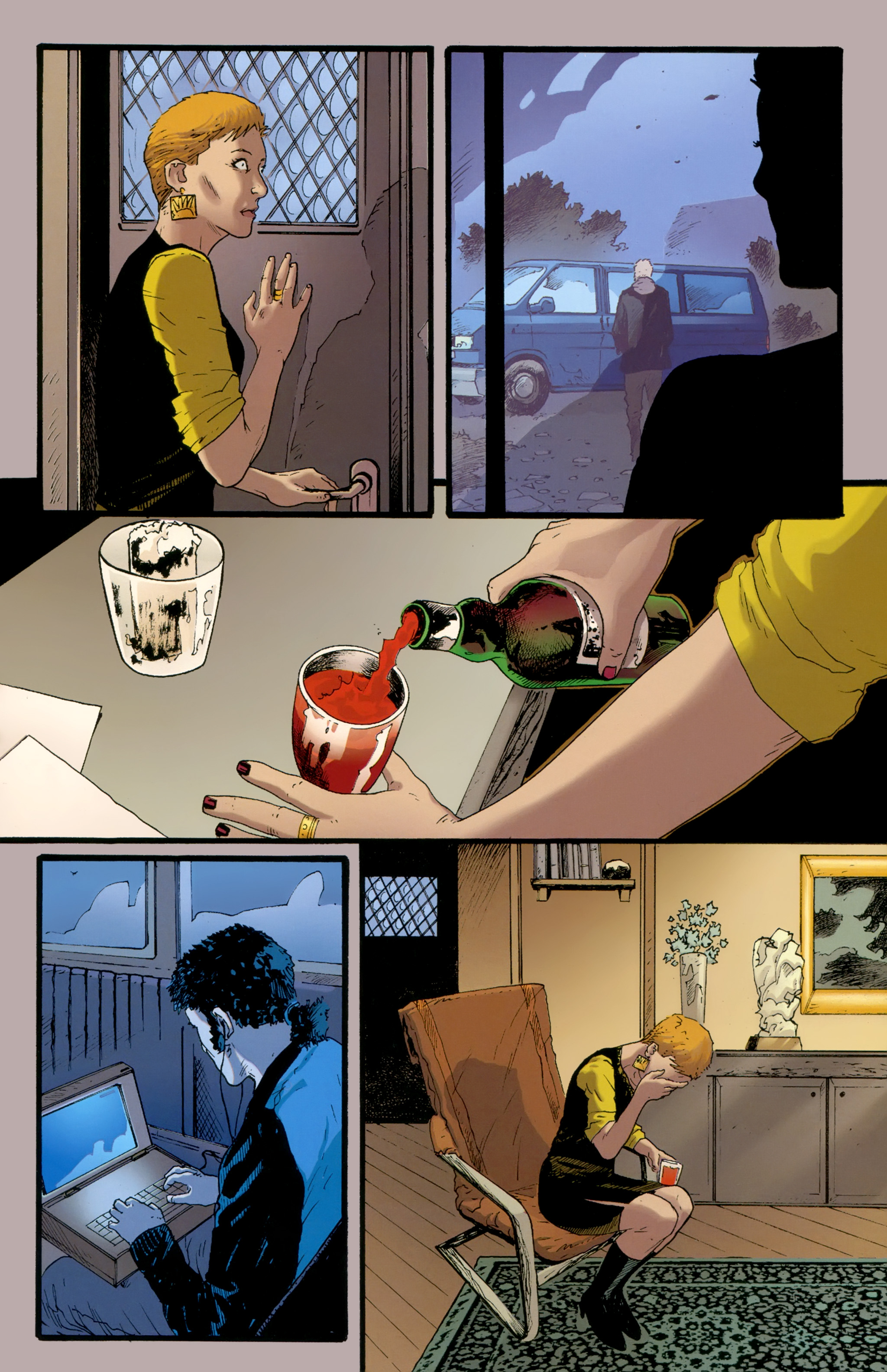 Read online The Girl With the Dragon Tattoo comic -  Issue # TPB 2 - 129