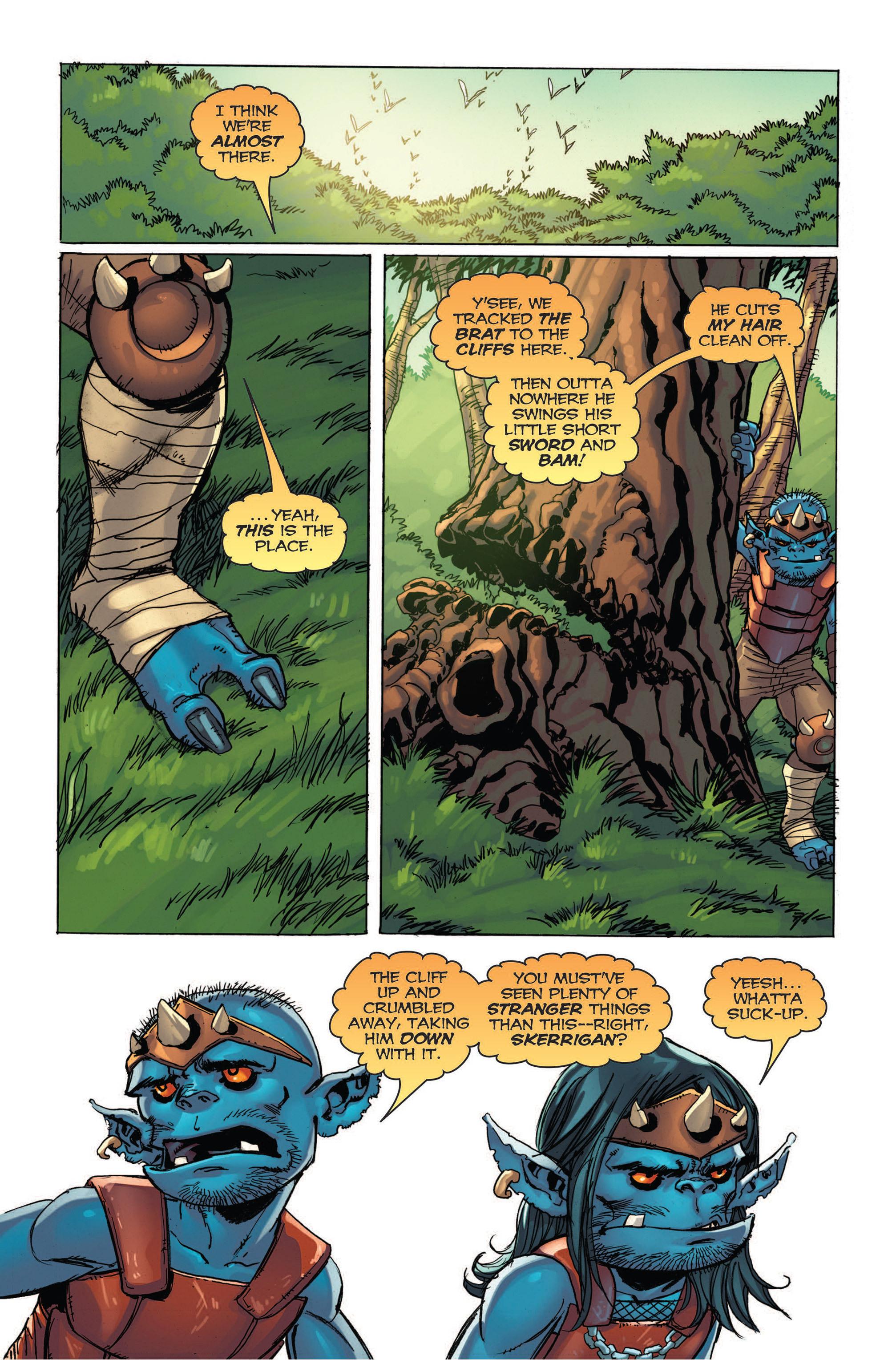 Read online Skyward comic -  Issue #4 - 12