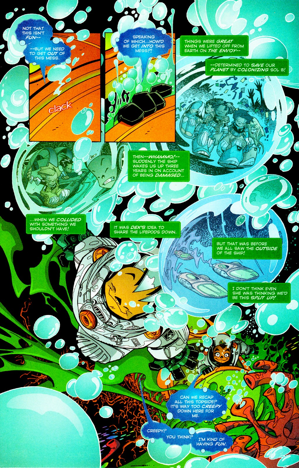 Read online Monster World (Existed) comic -  Issue #2 - 5