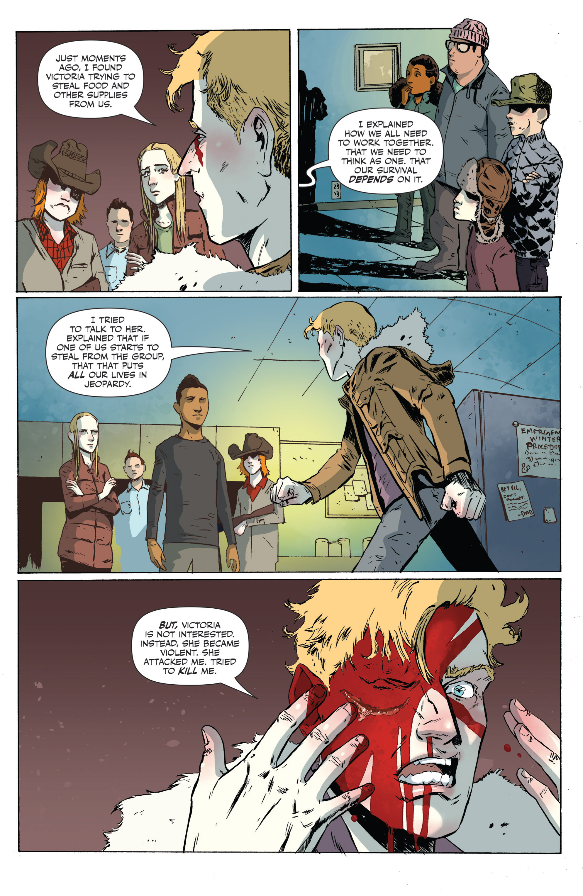 Read online Sheltered comic -  Issue #3 - 22