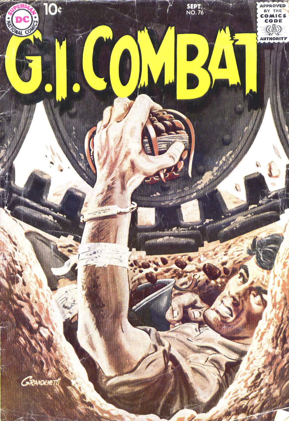 G.I. Combat (1952) issue 76 - Page 1